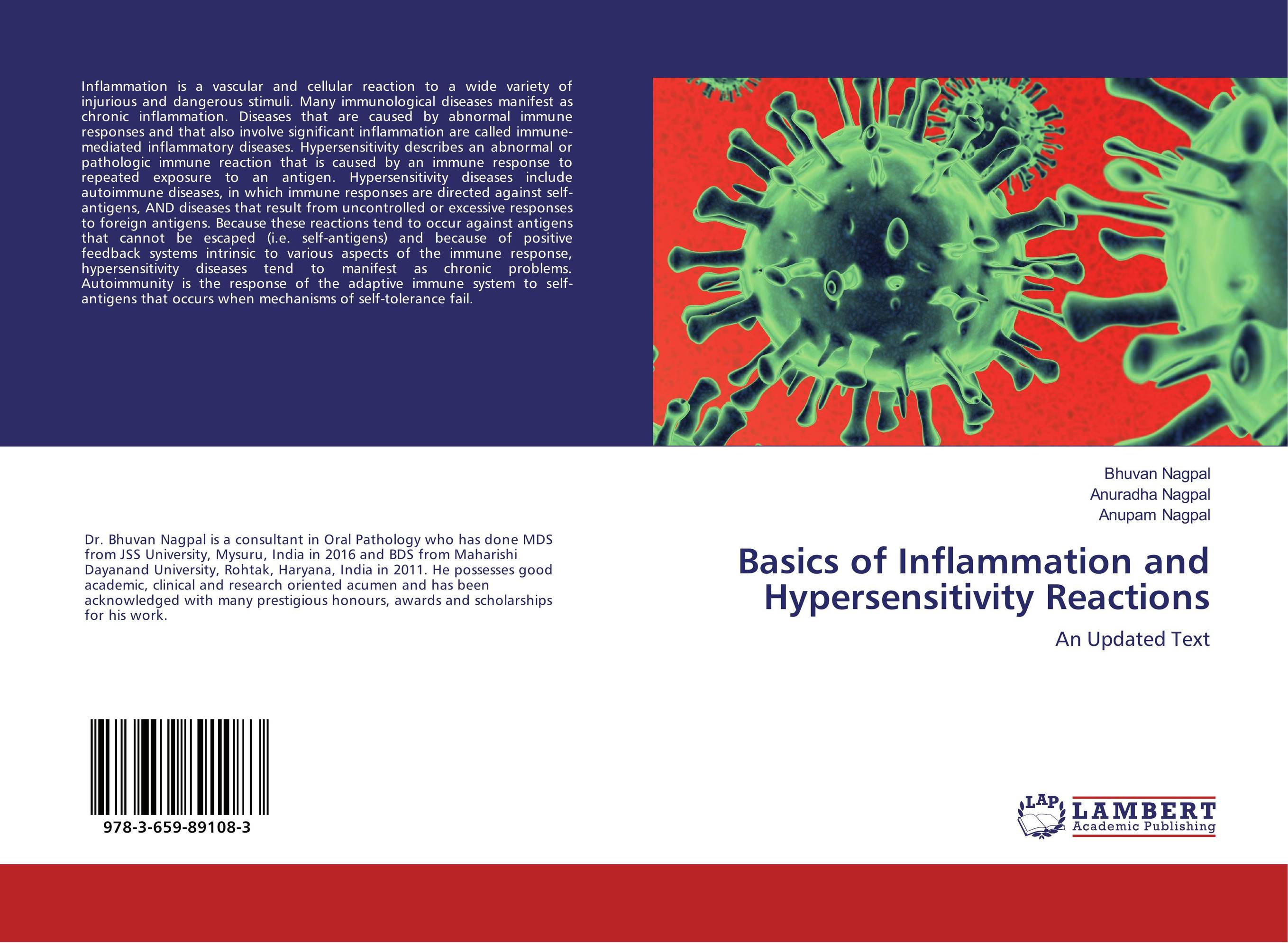 Basics of Inflammation and Hypersensitivity Reactions the autoimmune diseases