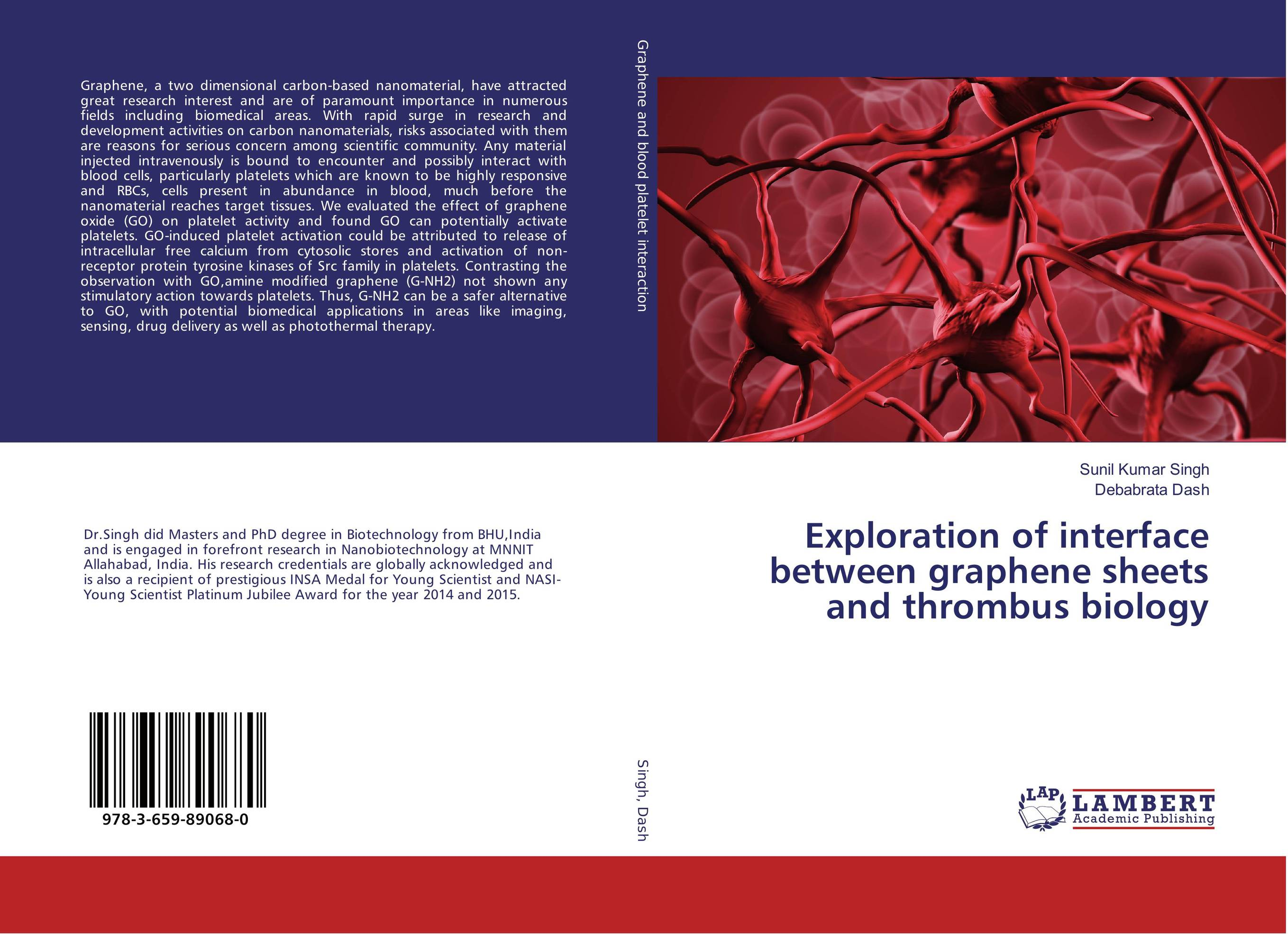 Exploration of interface between graphene sheets and thrombus biology a role of tec a non receptor tyrosine kinase as apoptotic regulator