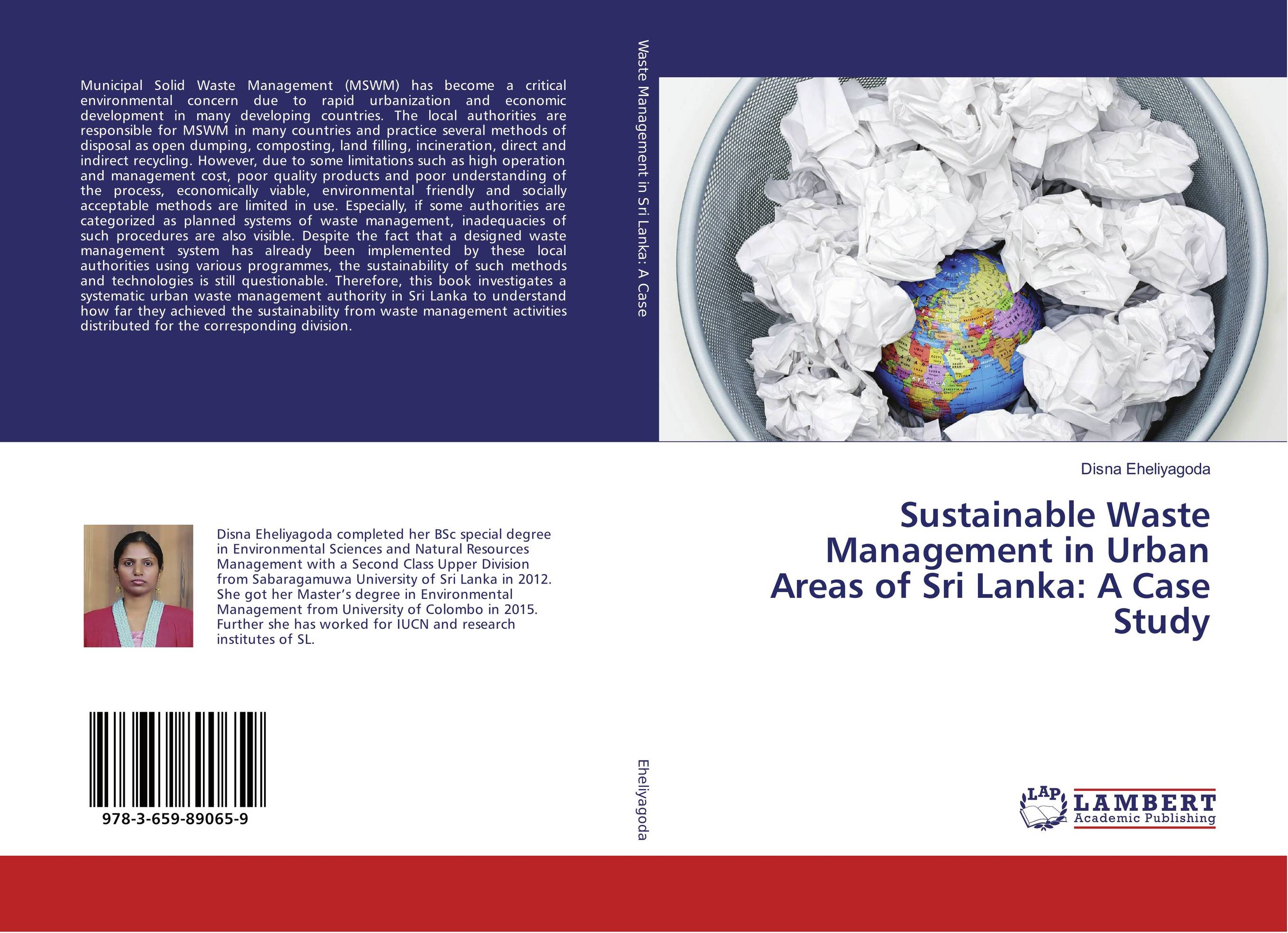 Sustainable Waste Management in Urban Areas of Sri Lanka: A Case Study