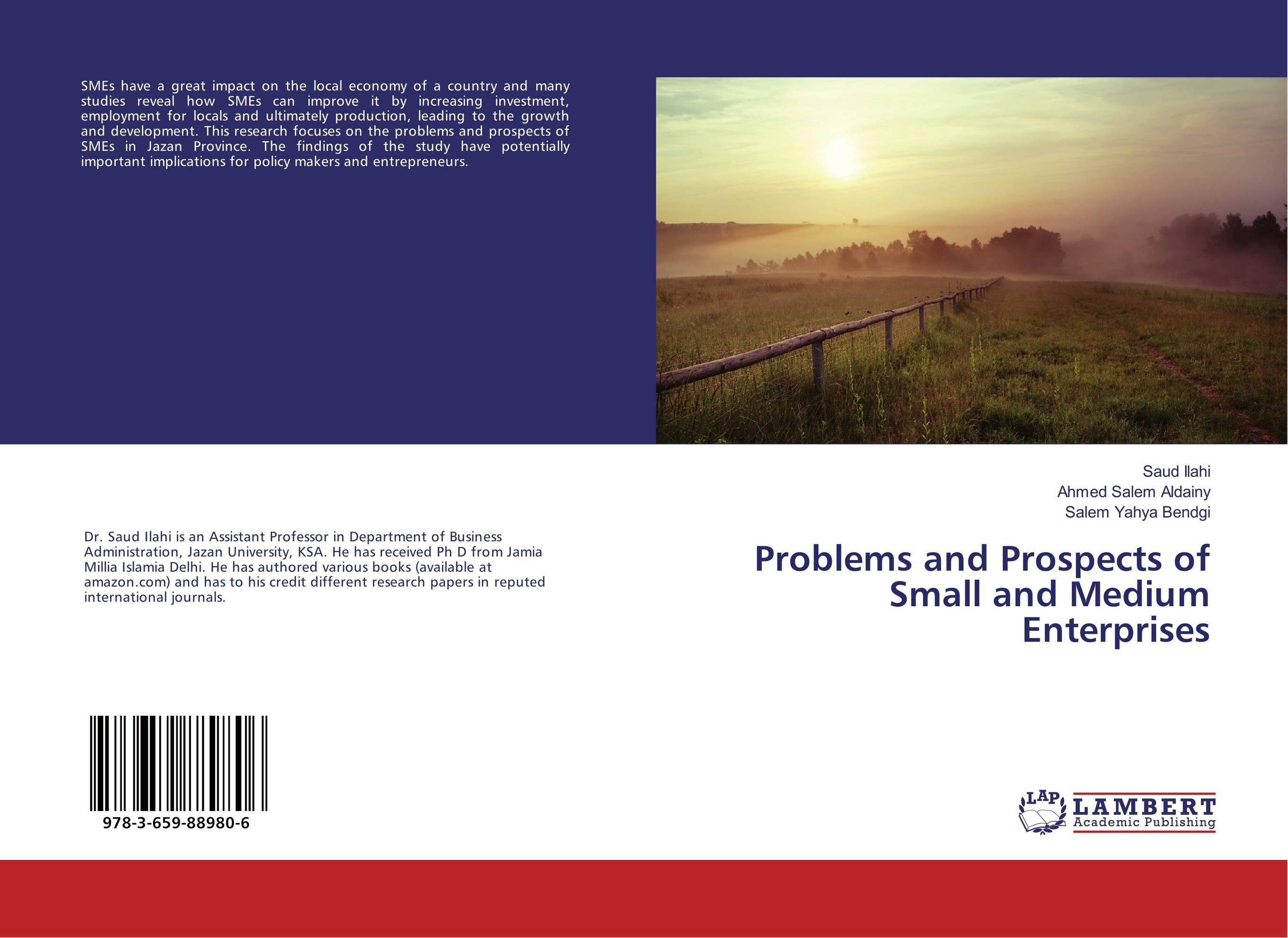 Problems and Prospects of Small and Medium Enterprises