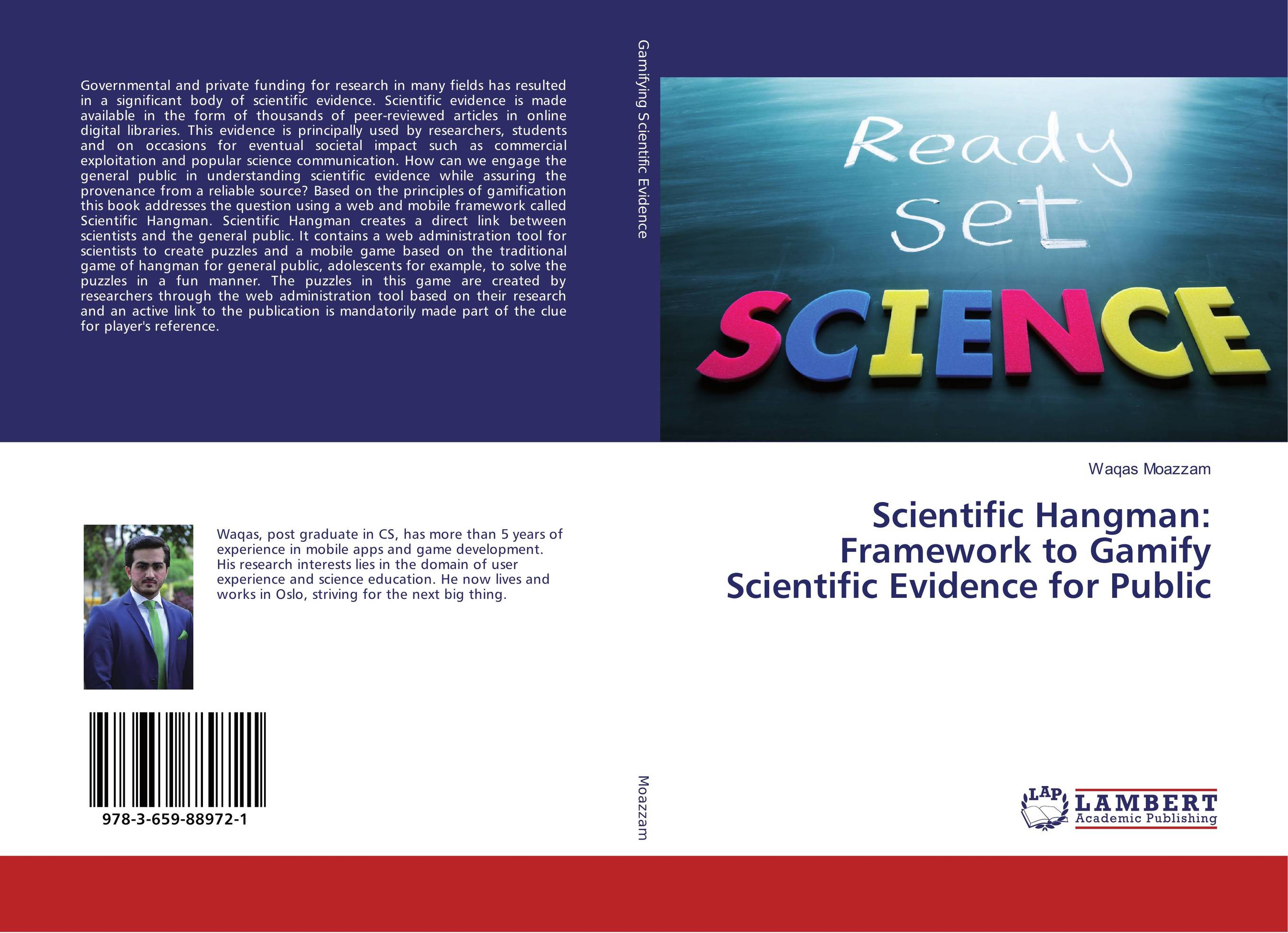 Scientific Hangman: Framework to Gamify Scientific Evidence for Public year of the hangman