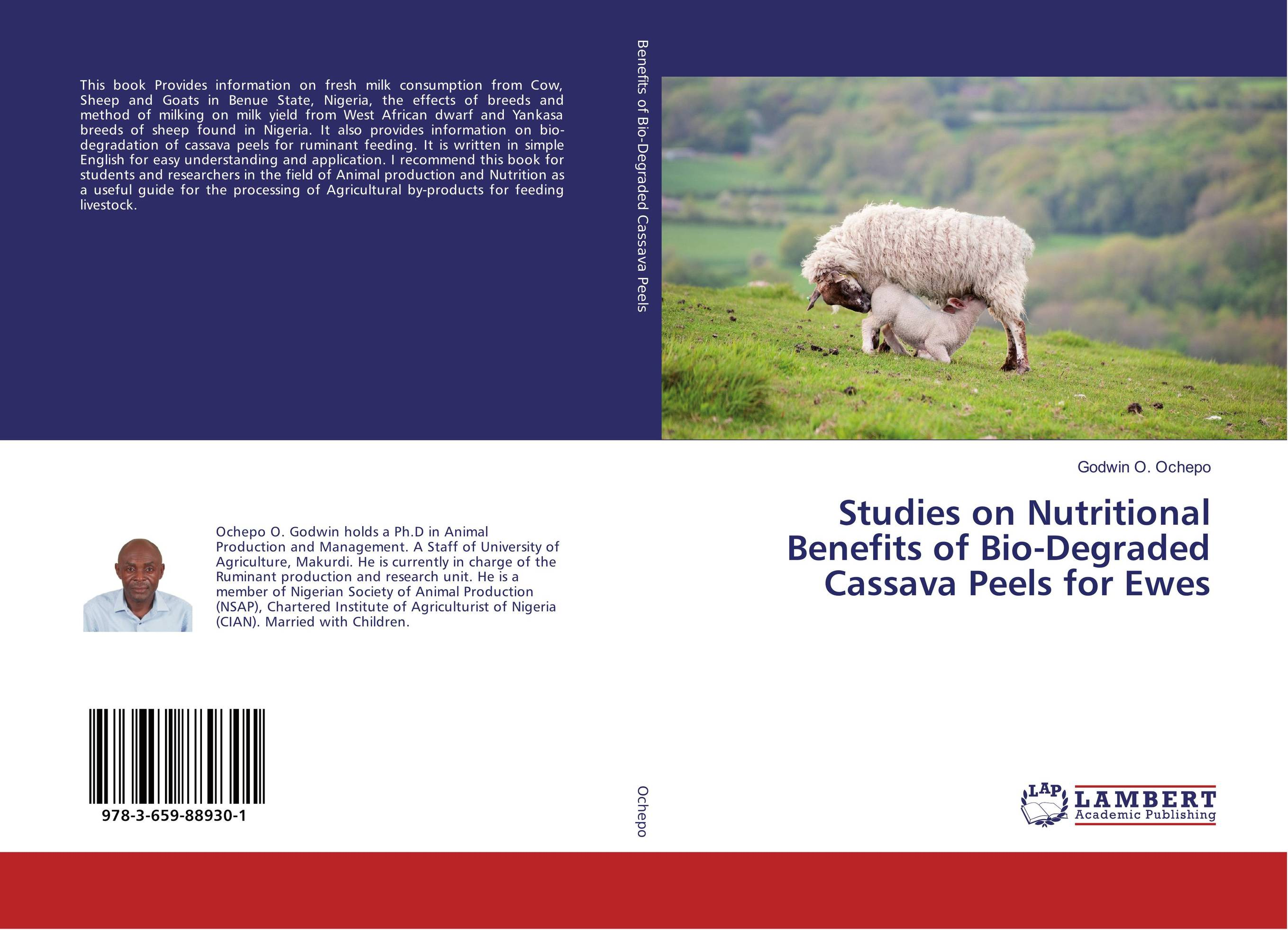 Studies on Nutritional Benefits of Bio-Degraded Cassava Peels for Ewes