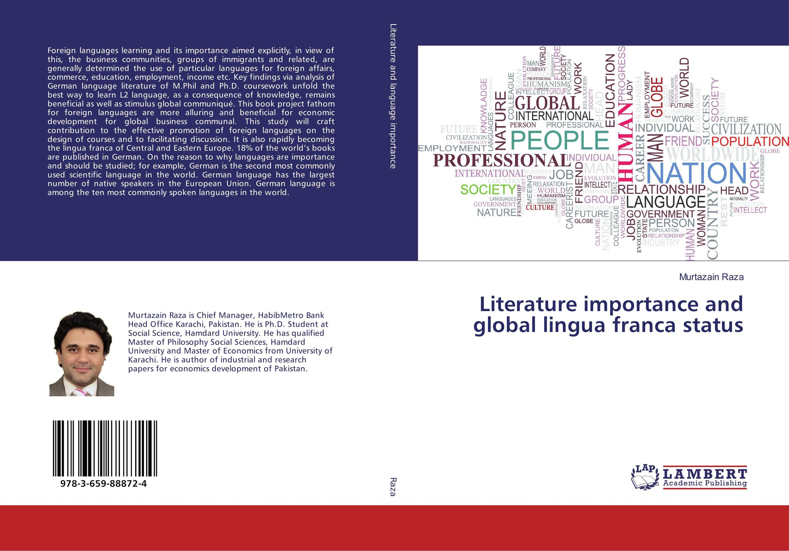 Literature importance and global lingua franca status introduction to the languages of the world