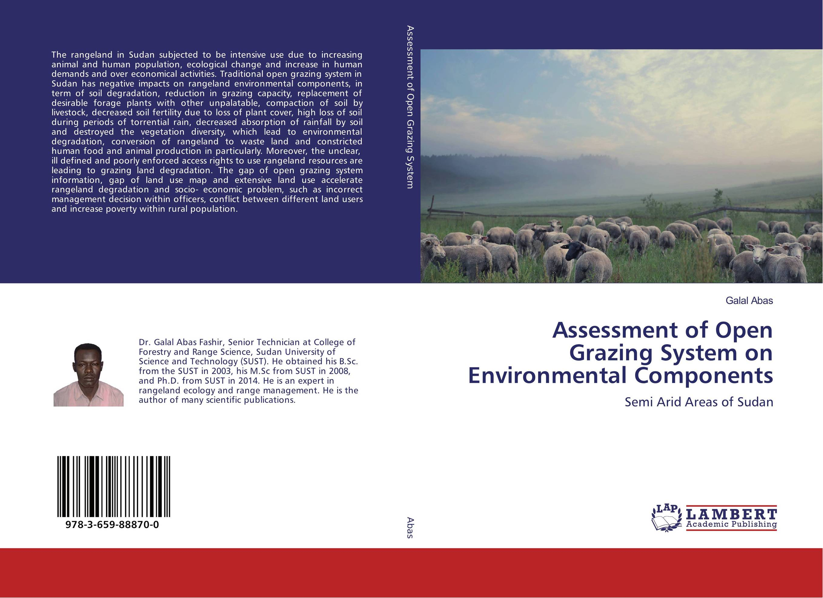 Assessment of Open Grazing System on Environmental Components an economic analysis of the environmental impacts of livestock grazing