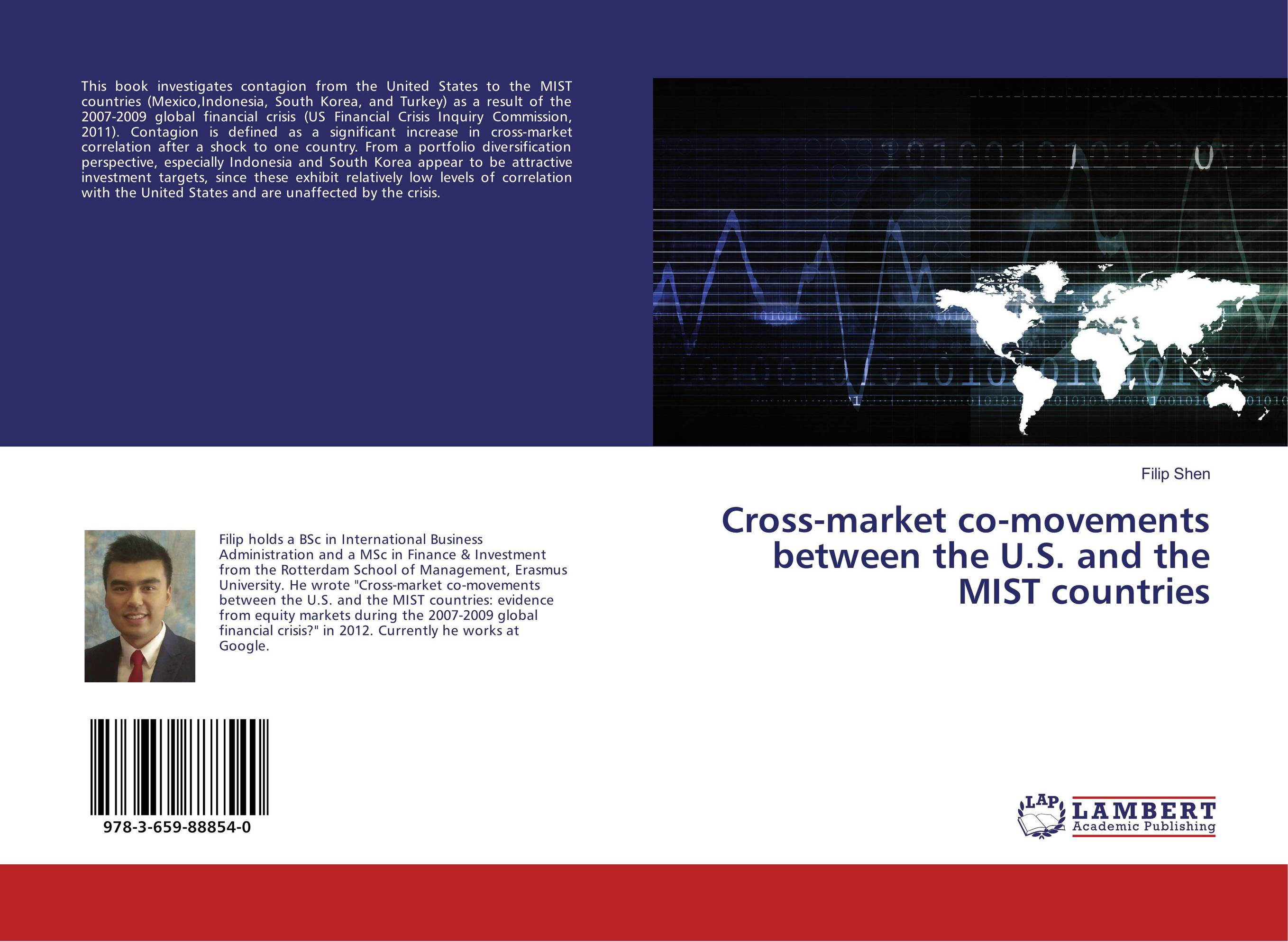 Cross-market co-movements between the U.S. and the MIST countries united as one lorien legacies book 7