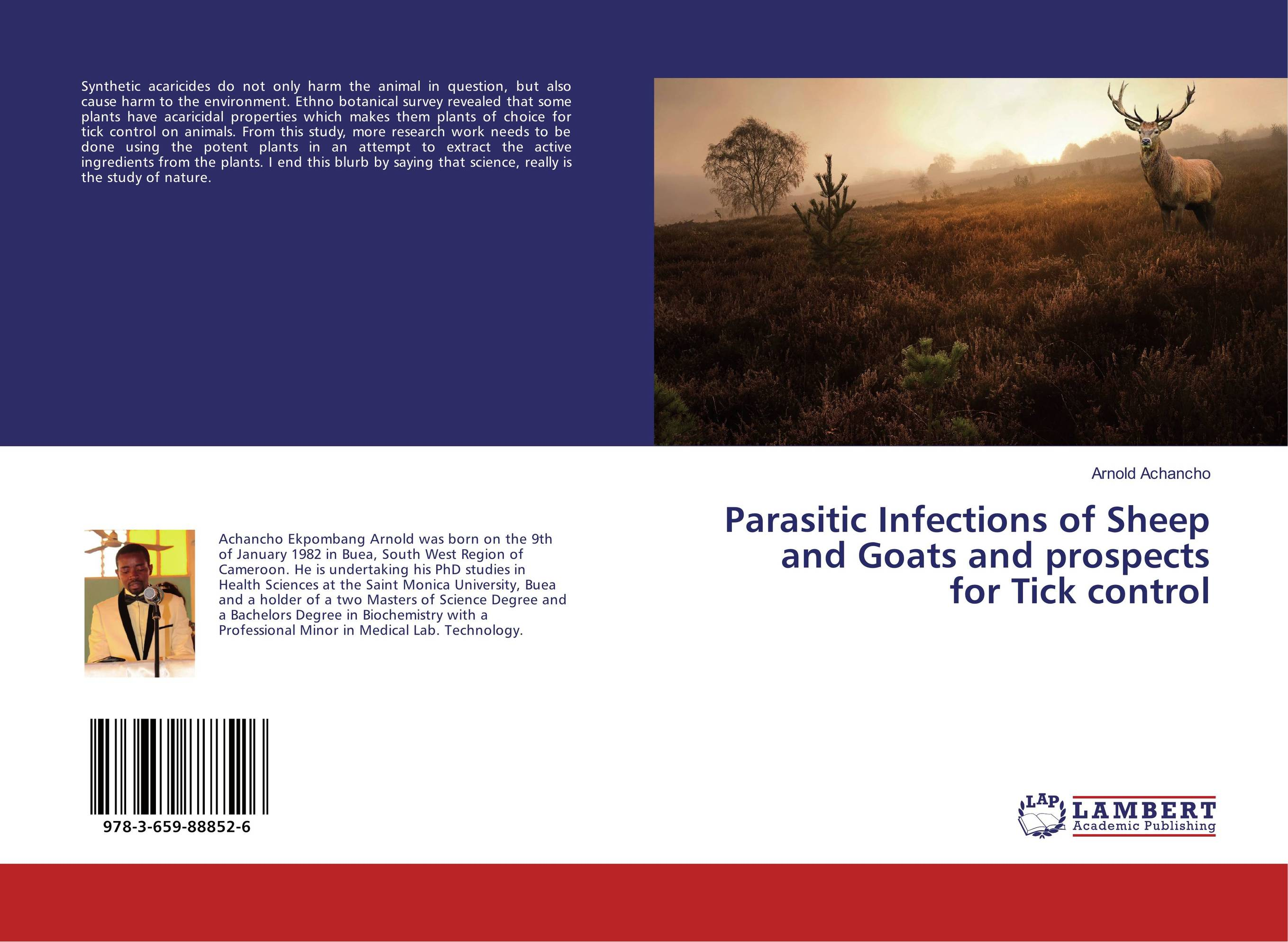 Parasitic Infections of Sheep and Goats and prospects for Tick control parasitic wood