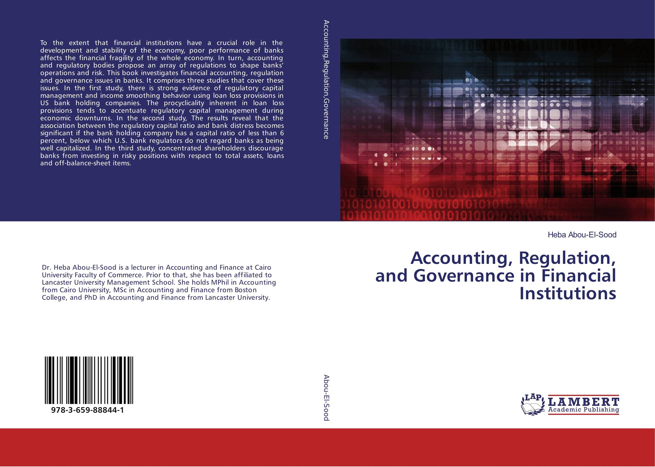 Accounting, Regulation, and Governance in Financial Institutions capital structure and risk dynamics among banks