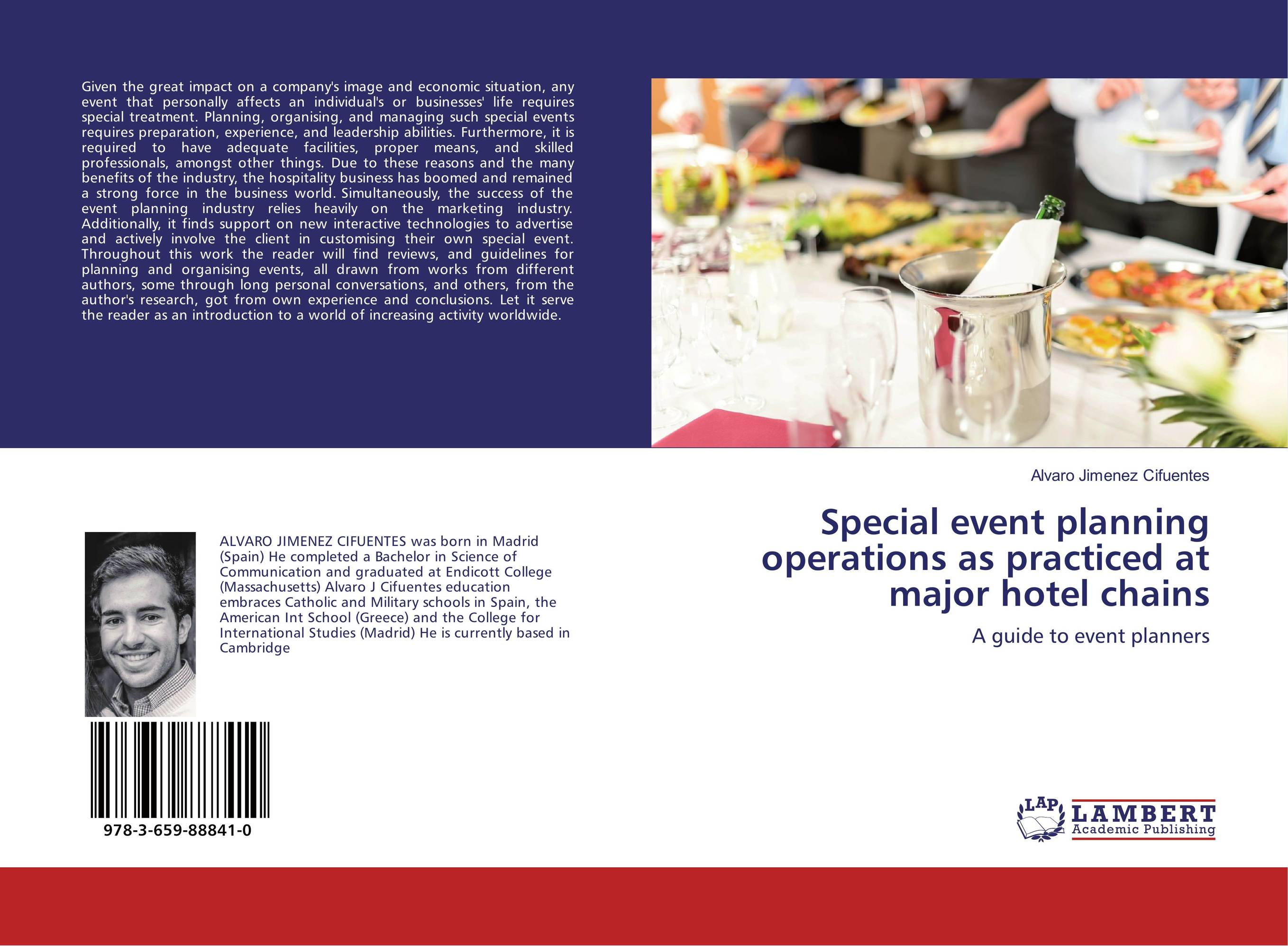 Special event planning operations as practiced at major hotel chains