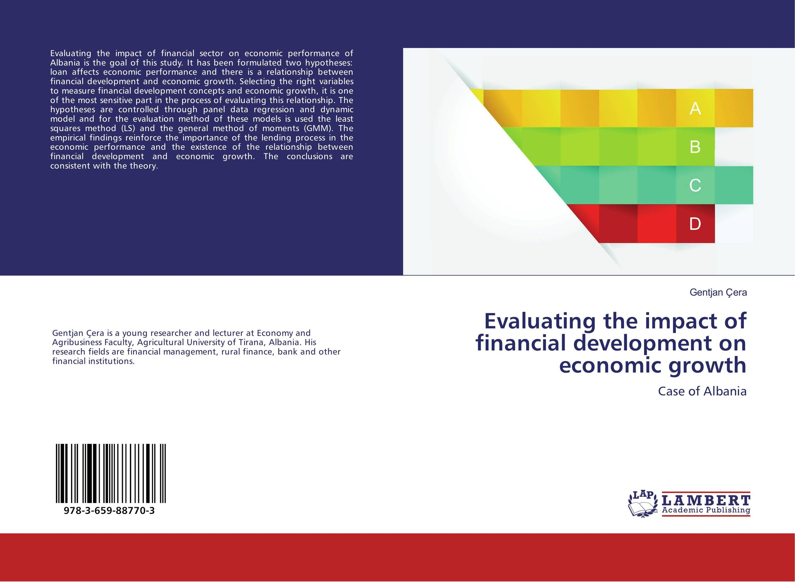 Evaluating the impact of financial development on economic growth evaluation of the impact of a mega sporting event