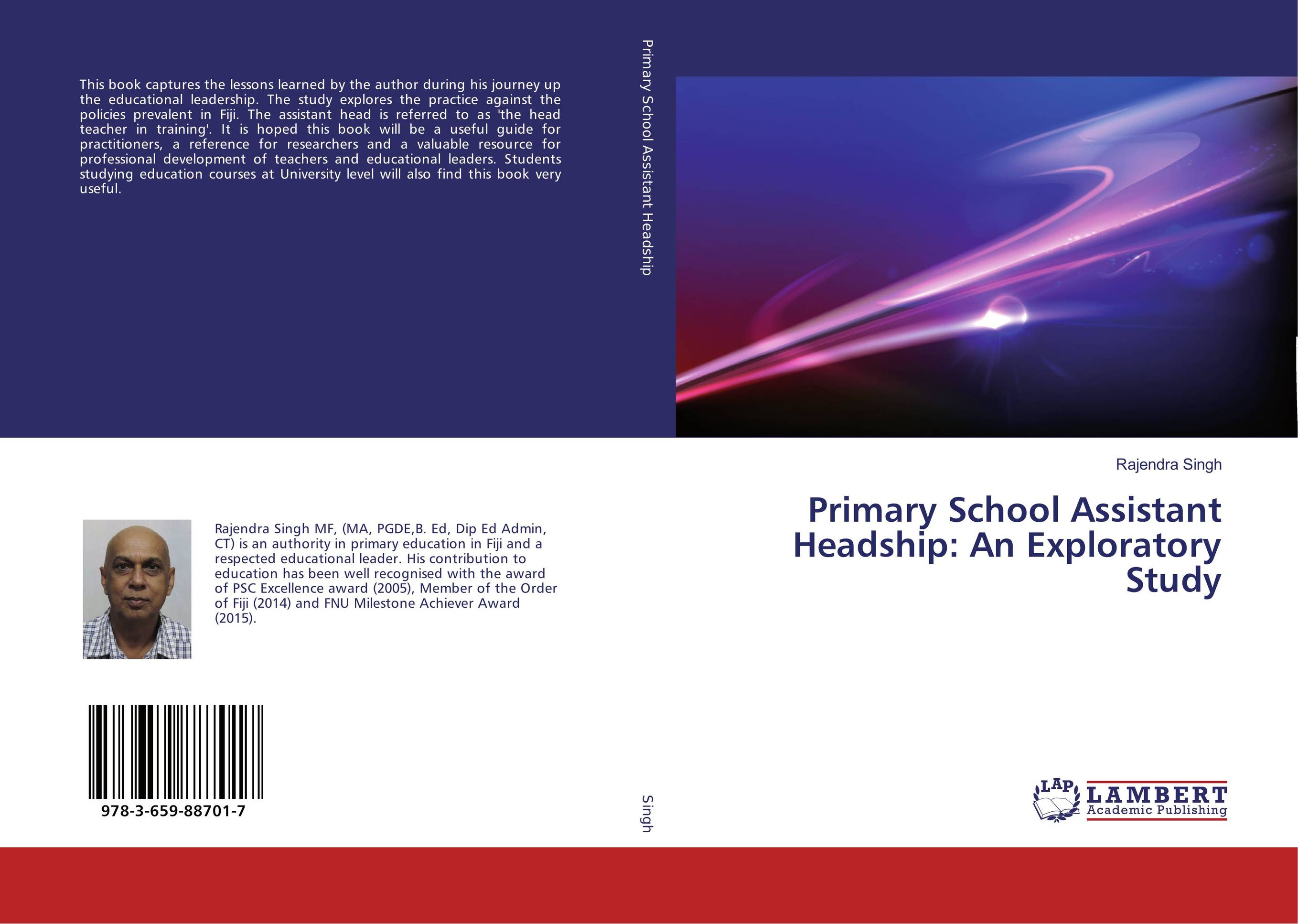 Primary School Assistant Headship: An Exploratory Study the assistant principalship as a career