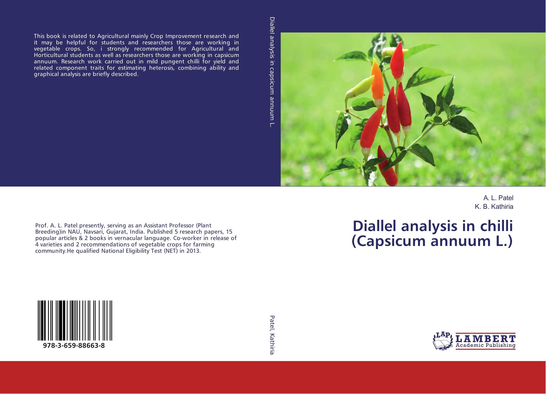 Diallel analysis in chilli (Capsicum annuum L.) heterosis and combining ability in brassica using diallel crosses