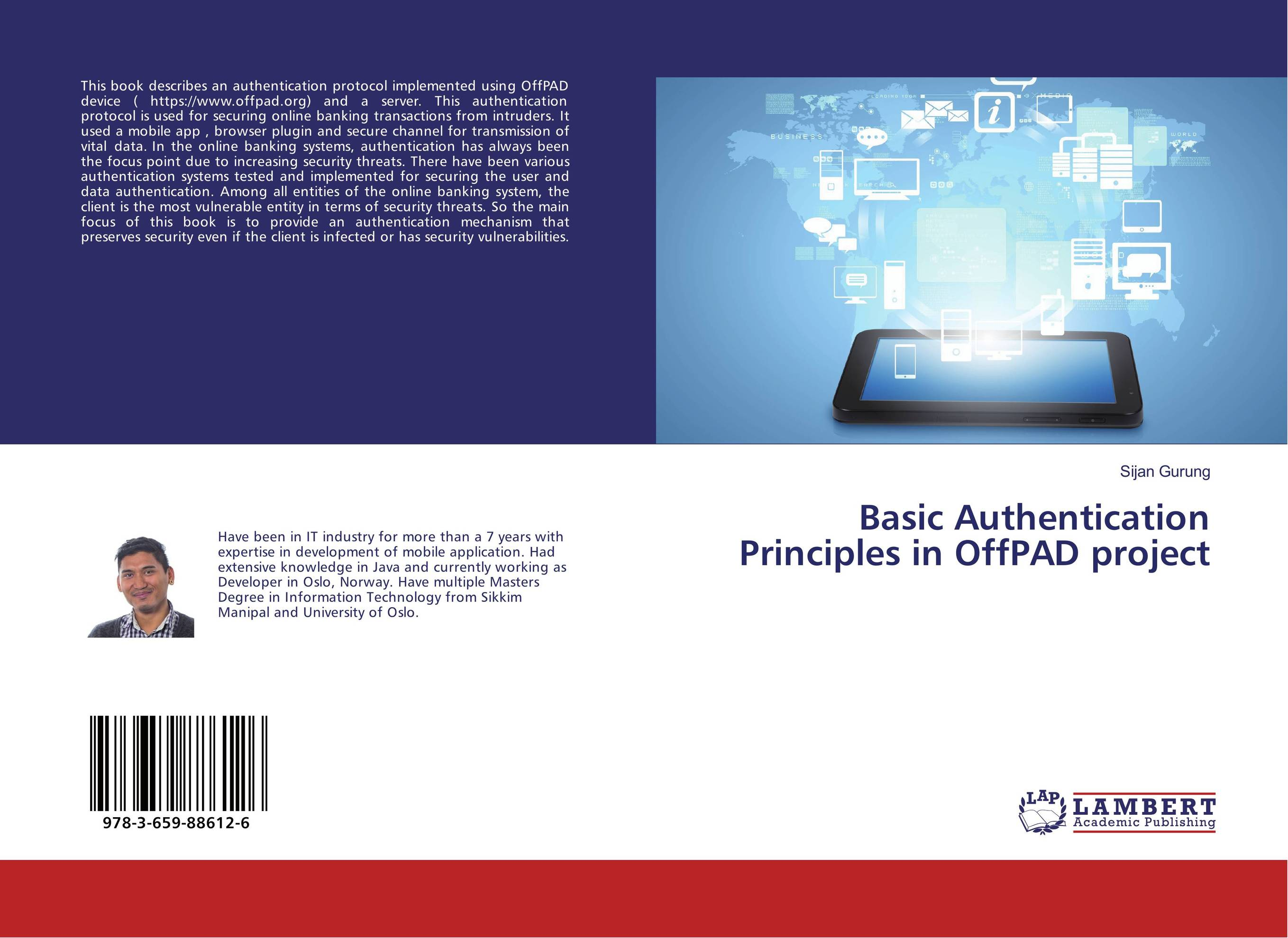 Basic Authentication Principles in OffPAD project