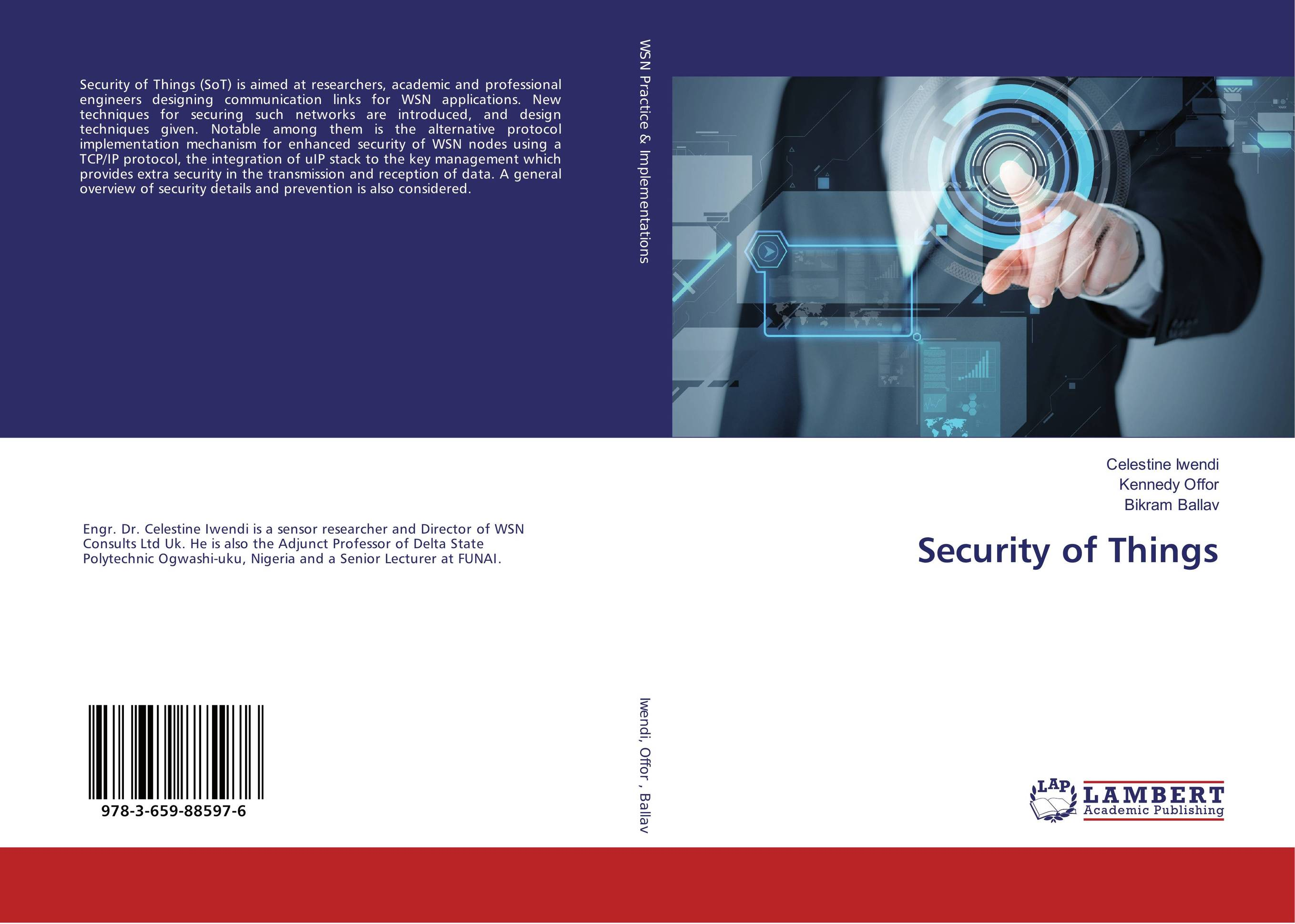 Security of Things lightweight and robust security for applications in internet of things