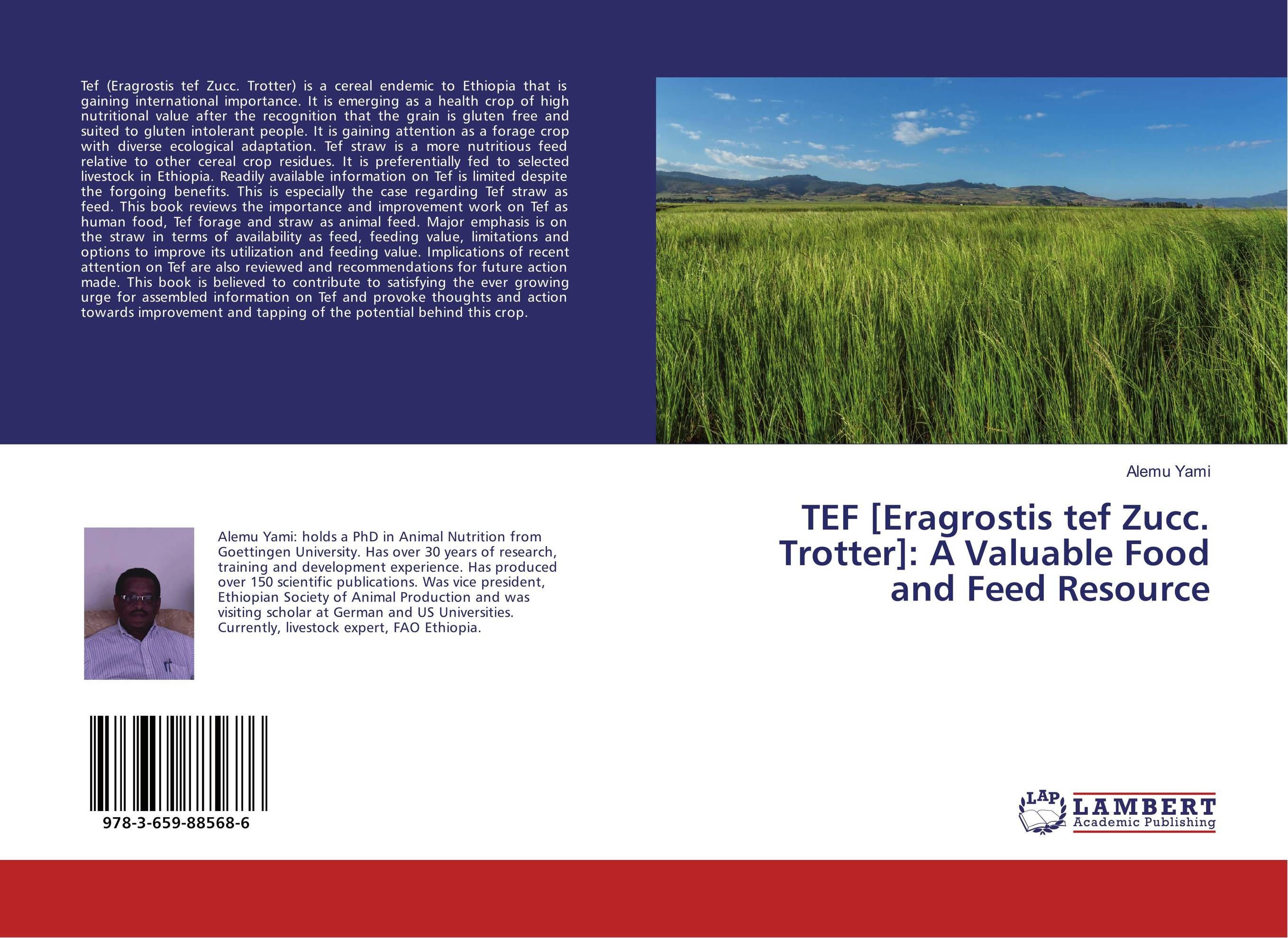 TEF [Eragrostis tef Zucc. Trotter]: A Valuable Food and Feed Resource lacywear платье s 41 tef