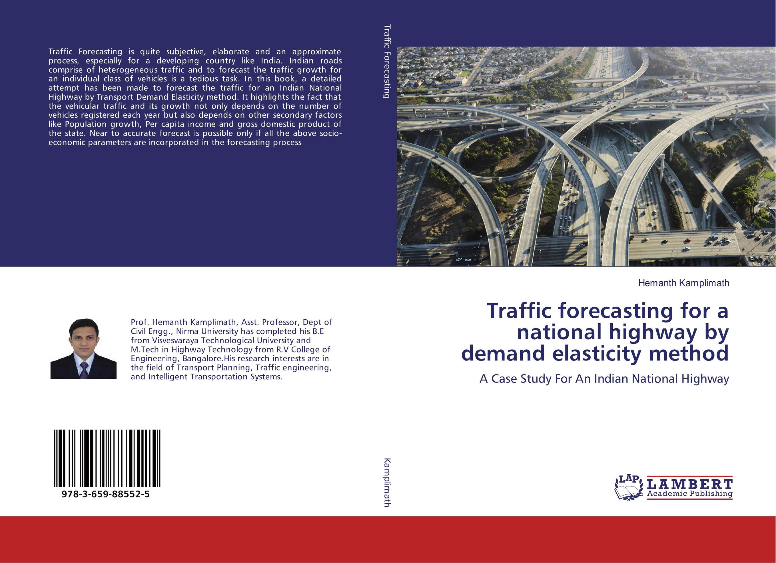 Traffic forecasting for a national highway by demand elasticity method charles chase w demand driven forecasting a structured approach to forecasting