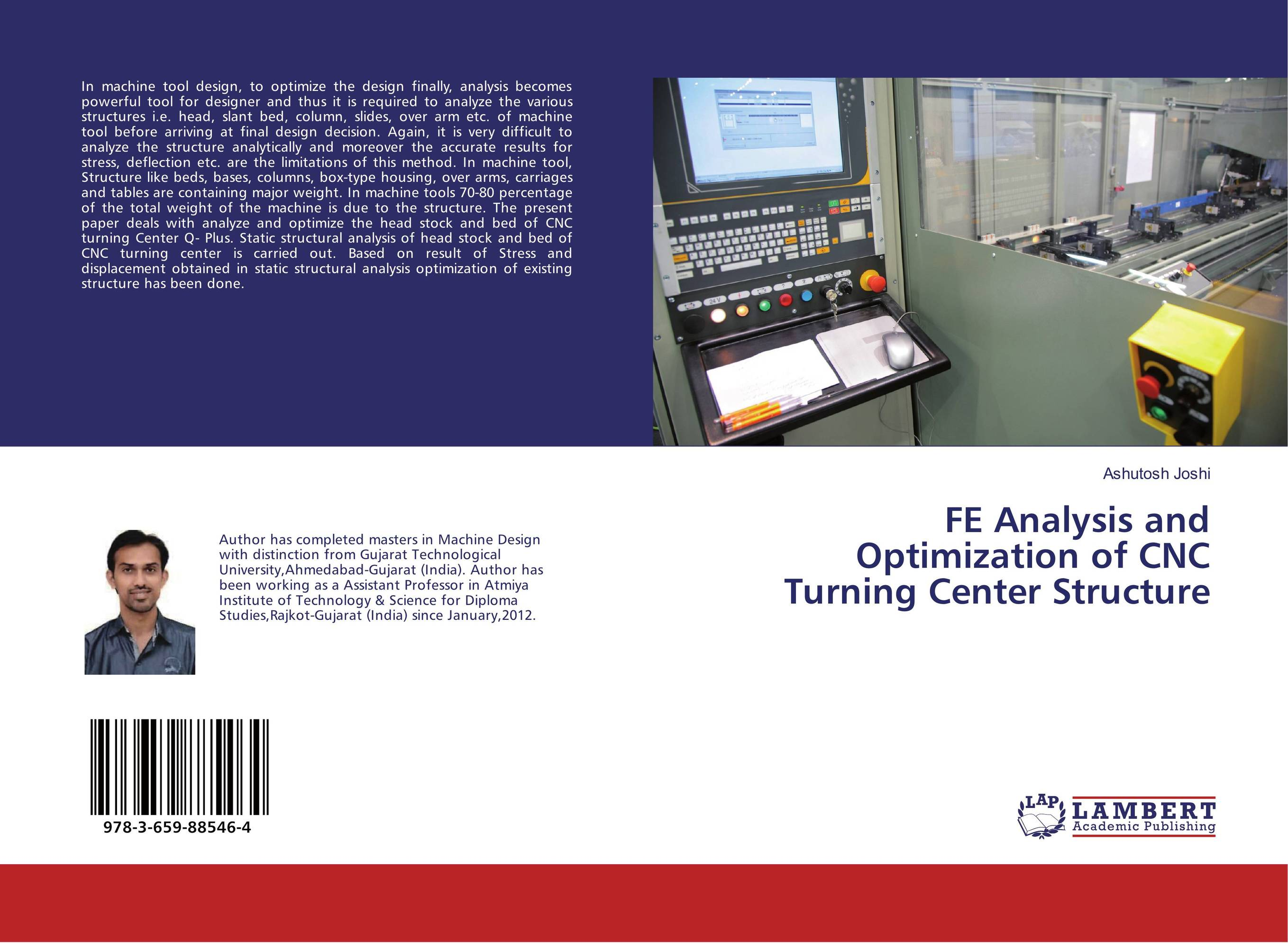 FE Analysis and Optimization of CNC Turning Center Structure купить