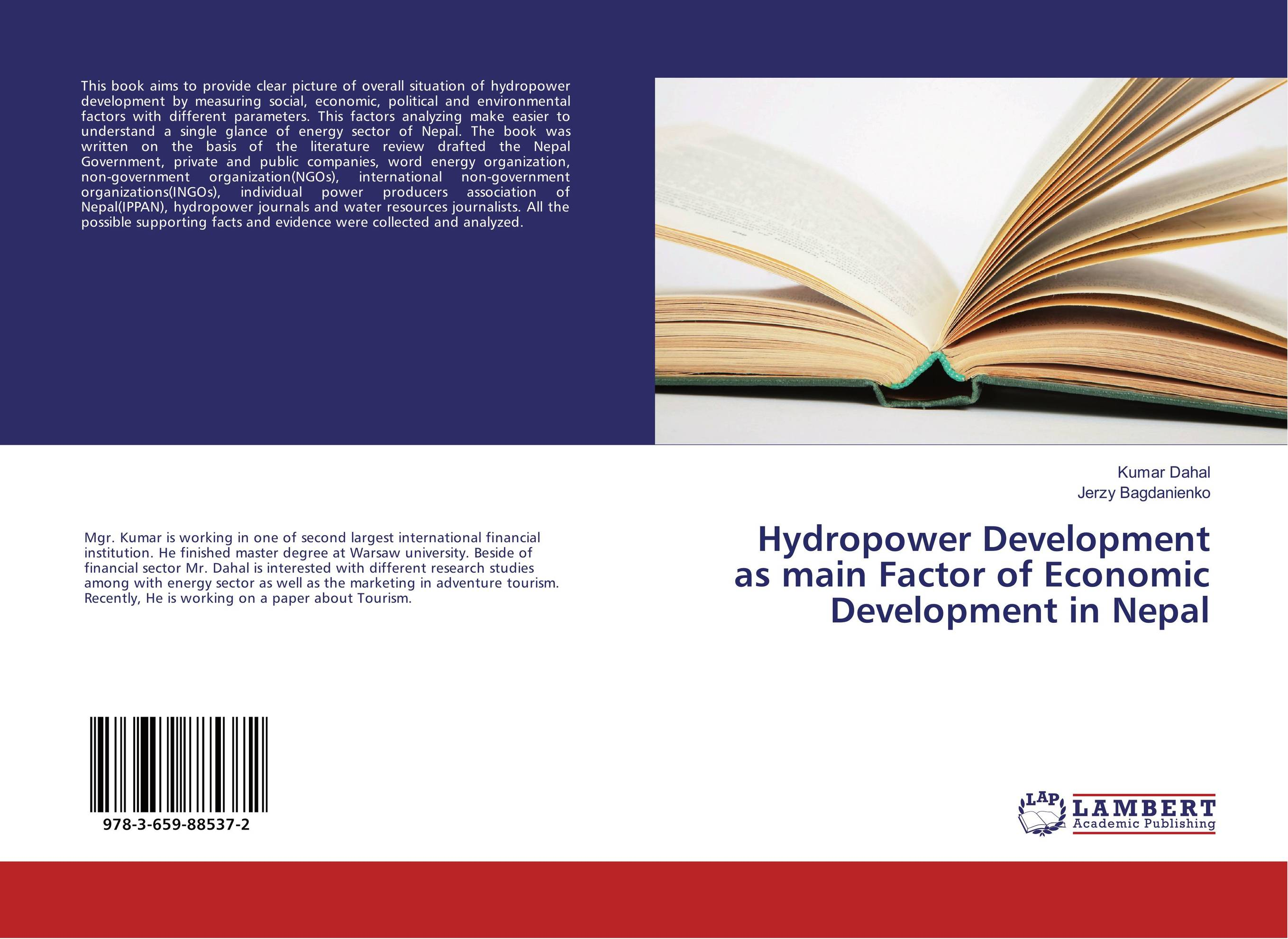 Hydropower Development as main Factor of Economic Development in Nepal development of a computational interface for small hydropower plant
