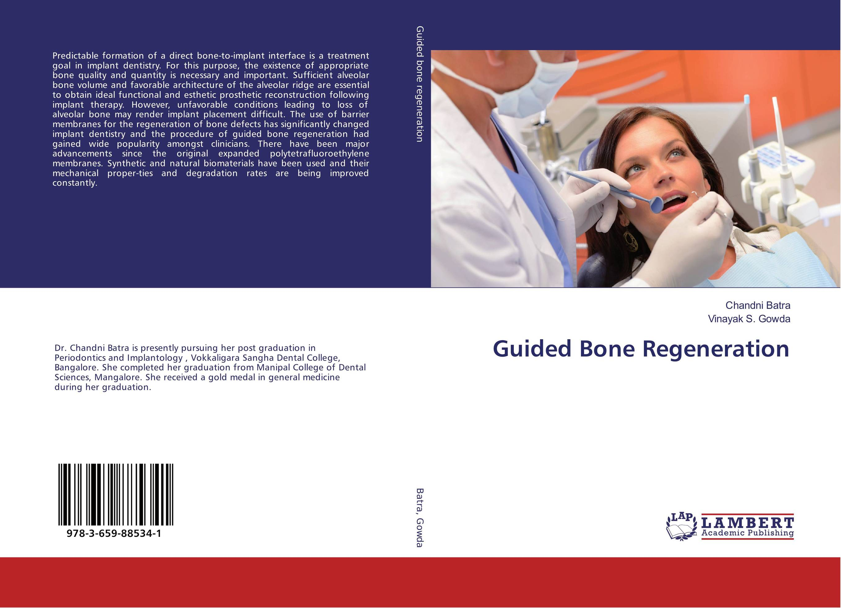 Guided Bone Regeneration attachments retaining implant overdentures
