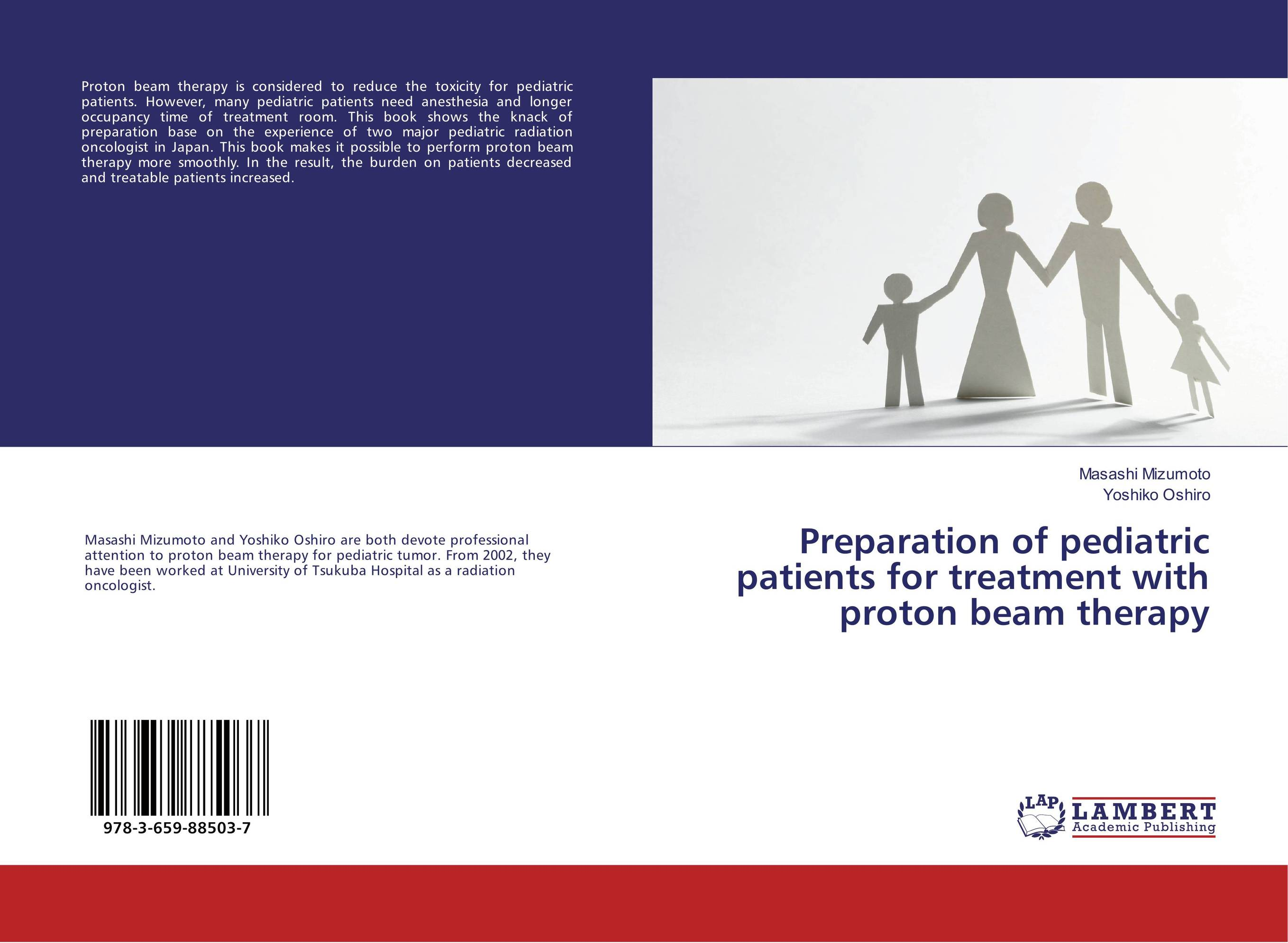 Preparation of pediatric patients for treatment with proton beam therapy