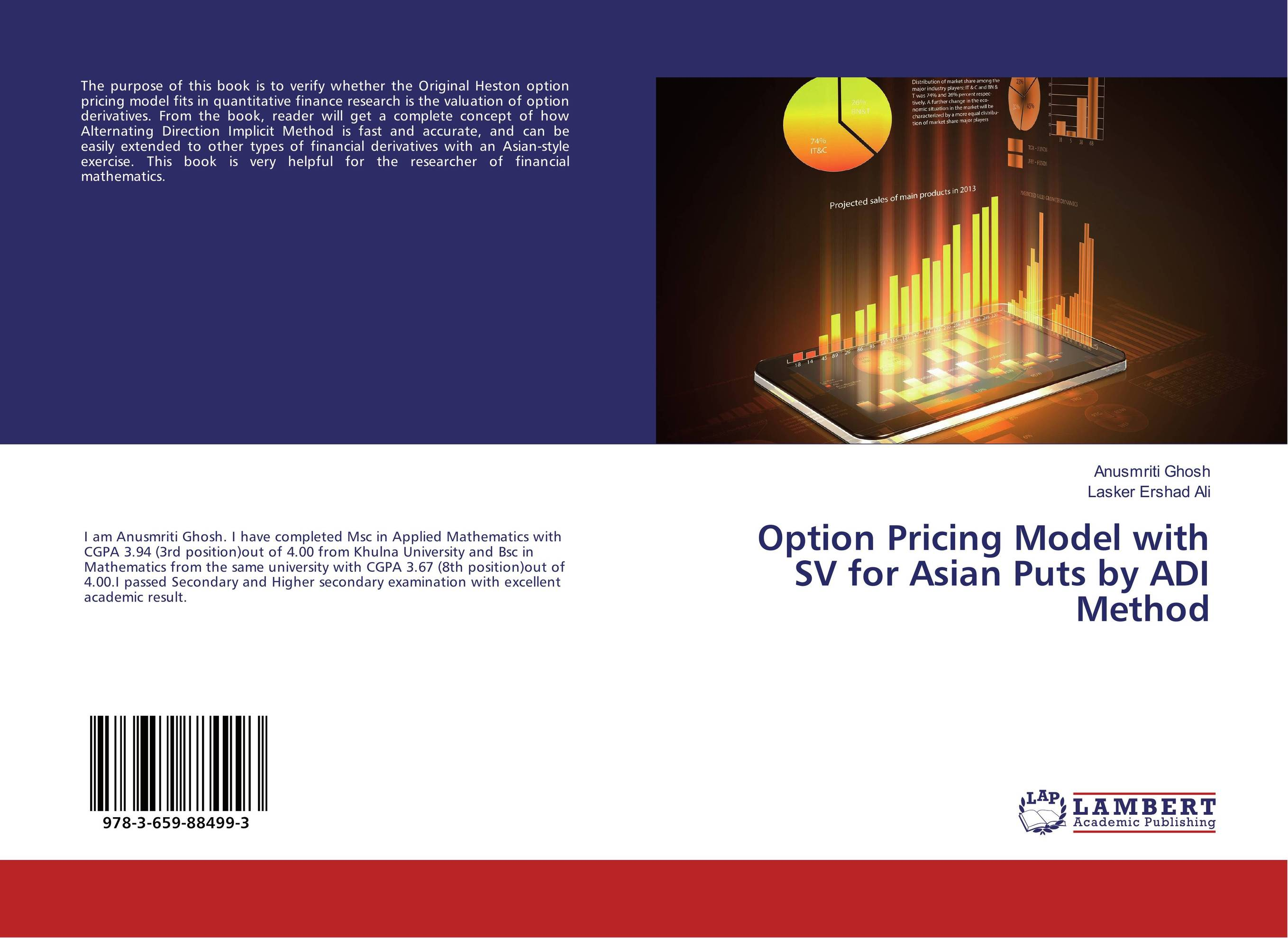 Option Pricing Model with SV for Asian Puts by ADI Method