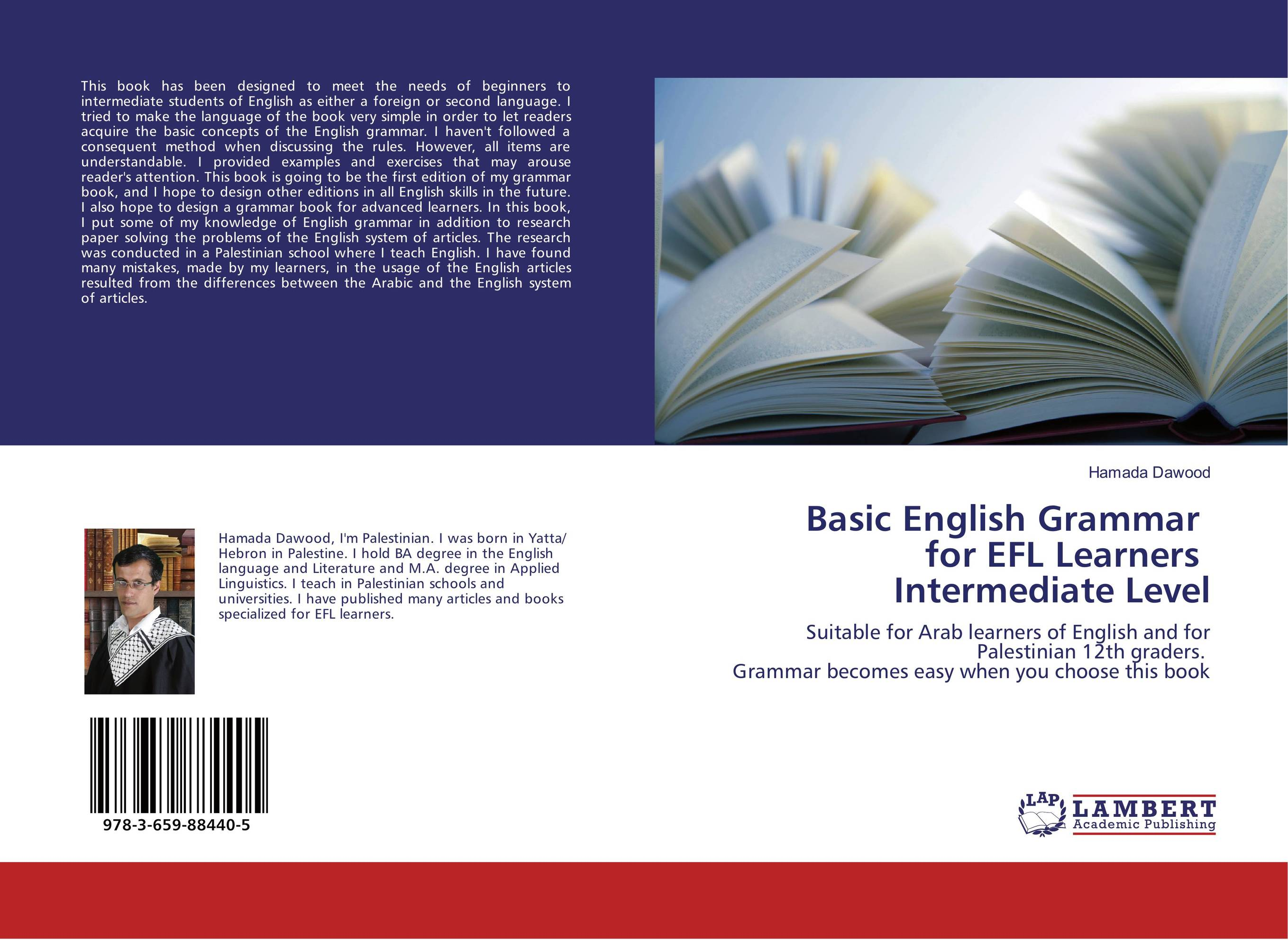 Basic English Grammar for EFL Learners Intermediate Level english vocabulary in use advanced