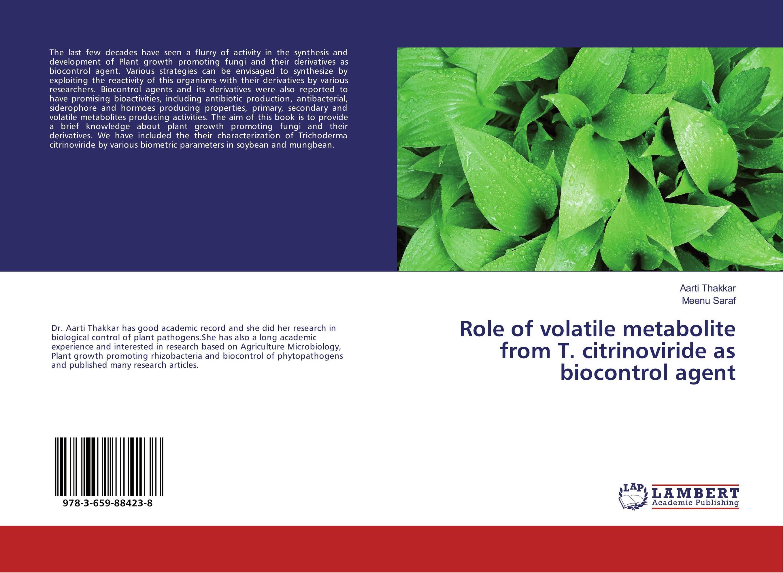 Role of volatile metabolite from T. citrinoviride as biocontrol agent tannase producing fungi