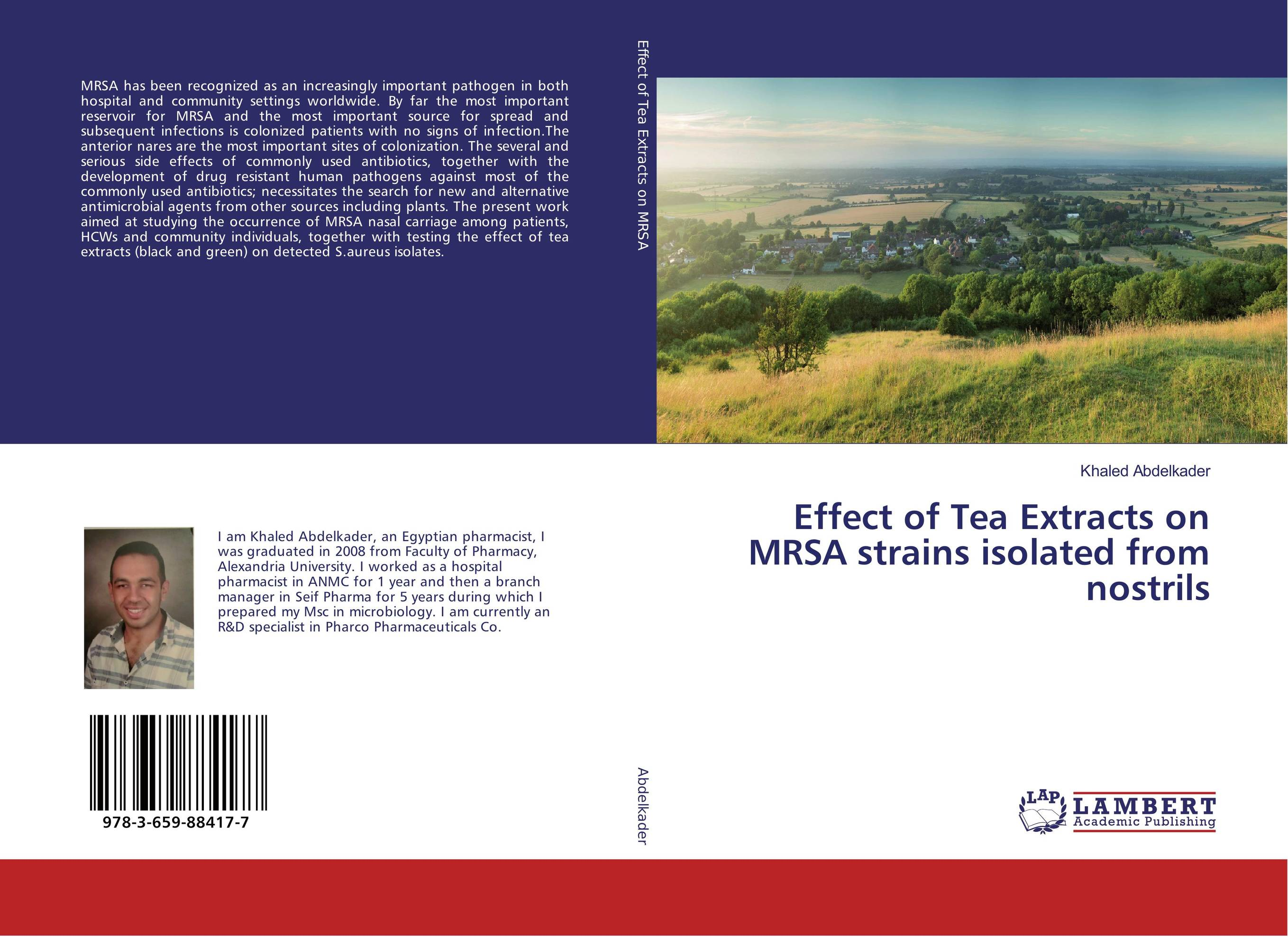 Effect of Tea Extracts on MRSA strains isolated from nostrils mrsa bacteraemia