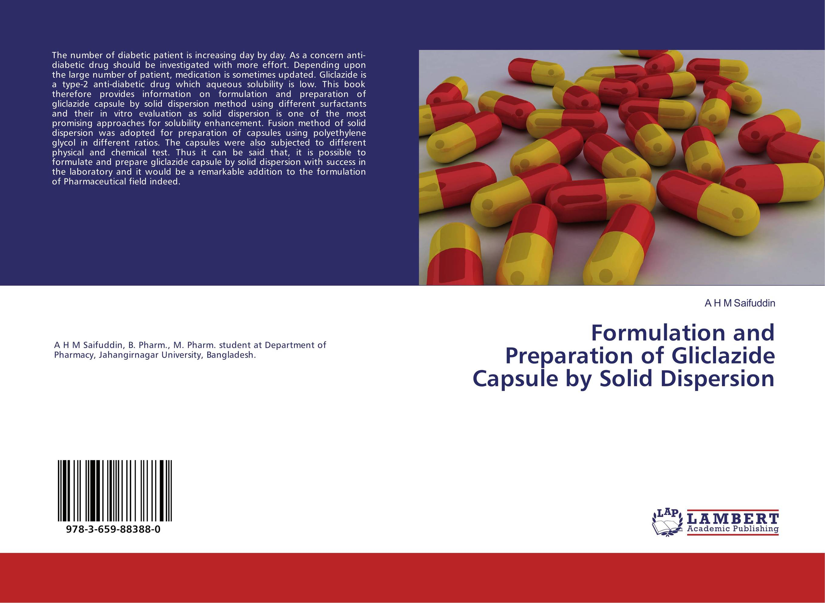 Formulation and Preparation of Gliclazide Capsule by Solid Dispersion dispersion managed solitons
