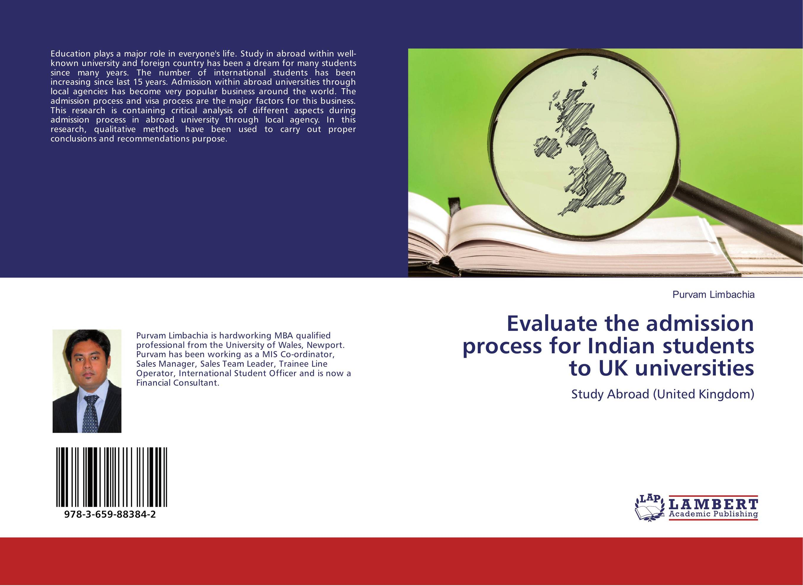 Evaluate the admission process for Indian students to UK universities
