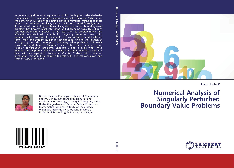 Numerical Analysis of Singularly Perturbed Boundary Value Problems