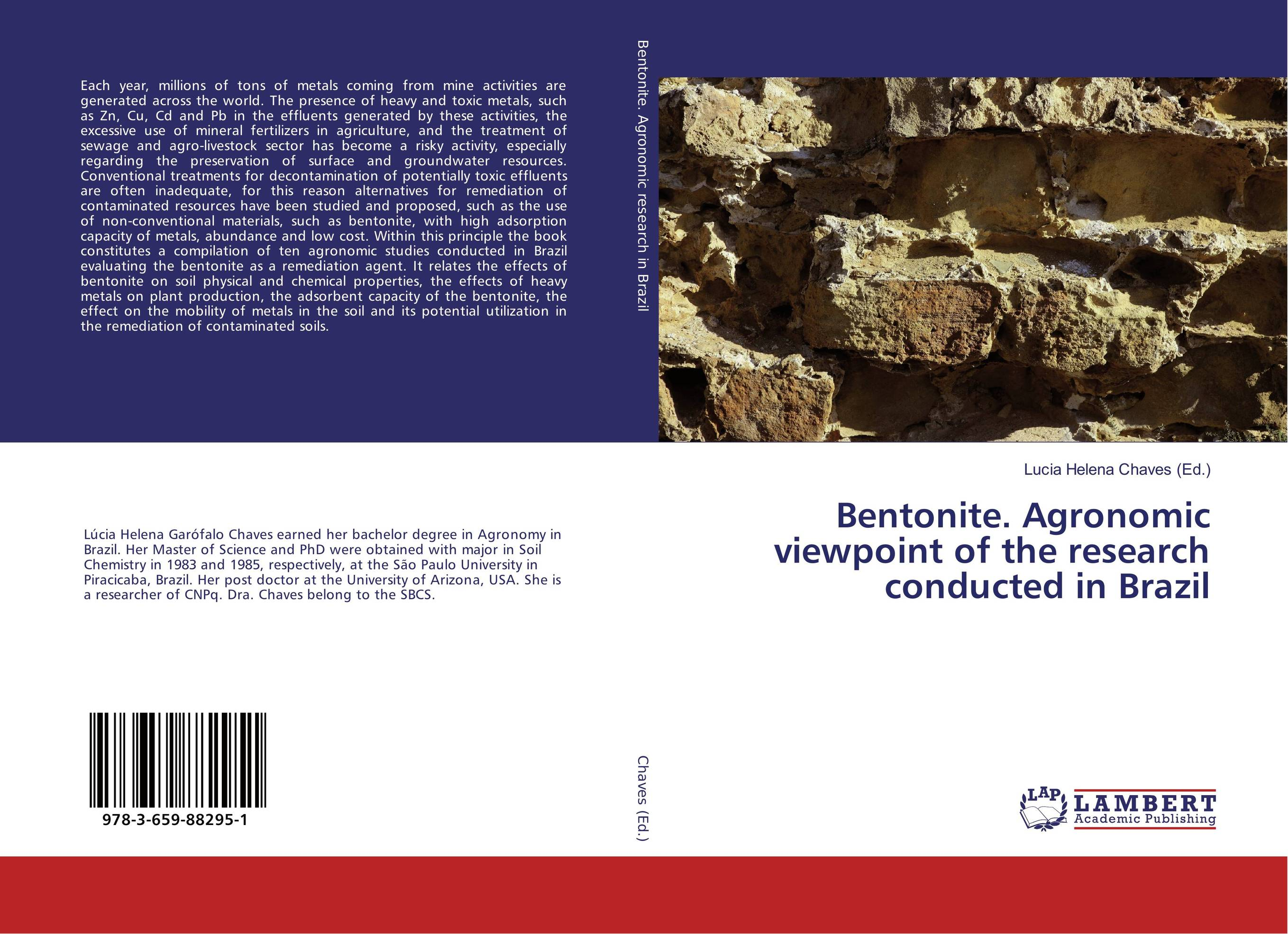Bentonite. Agronomic viewpoint of the research conducted in Brazil g voigt remediation of contaminated environments 14
