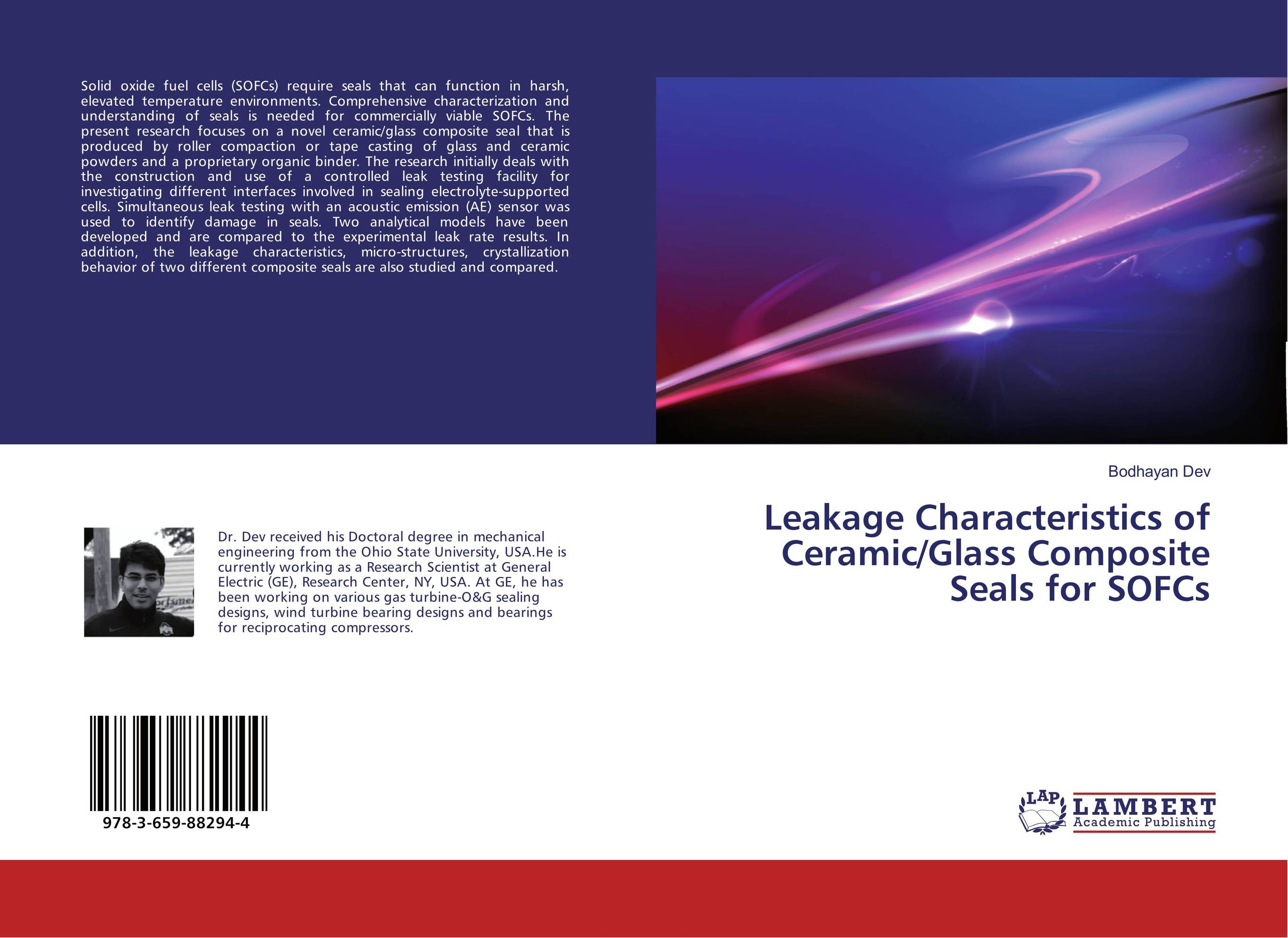 Leakage Characteristics of Ceramic/Glass Composite Seals for SOFCs the limiting background in a detector testing facility for supercdms