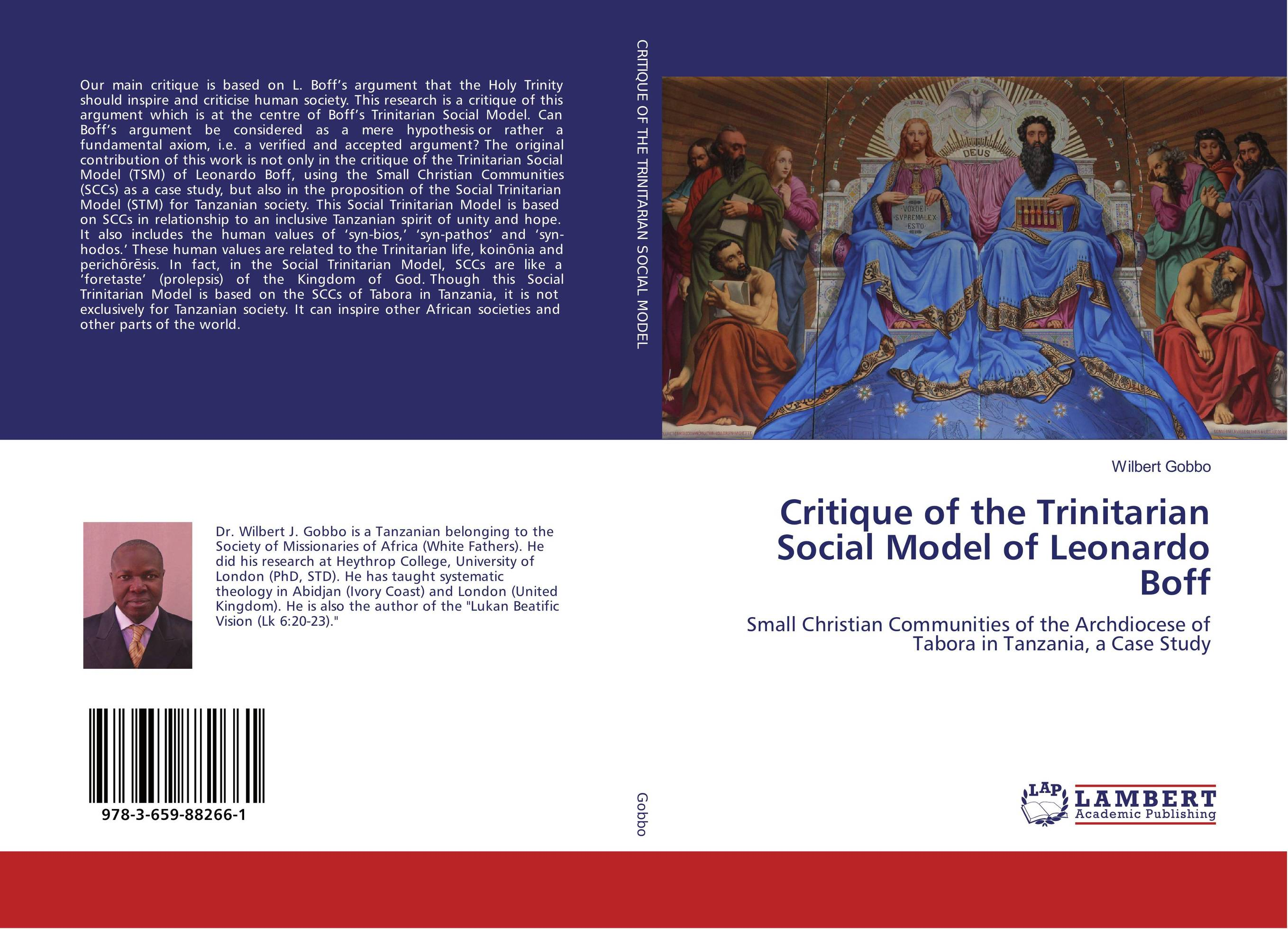 Critique of the Trinitarian Social Model of Leonardo Boff