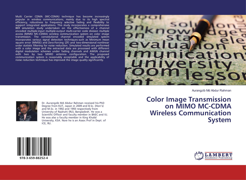 Color Image Transmission on MIMO MC-CDMA Wireless Communication System