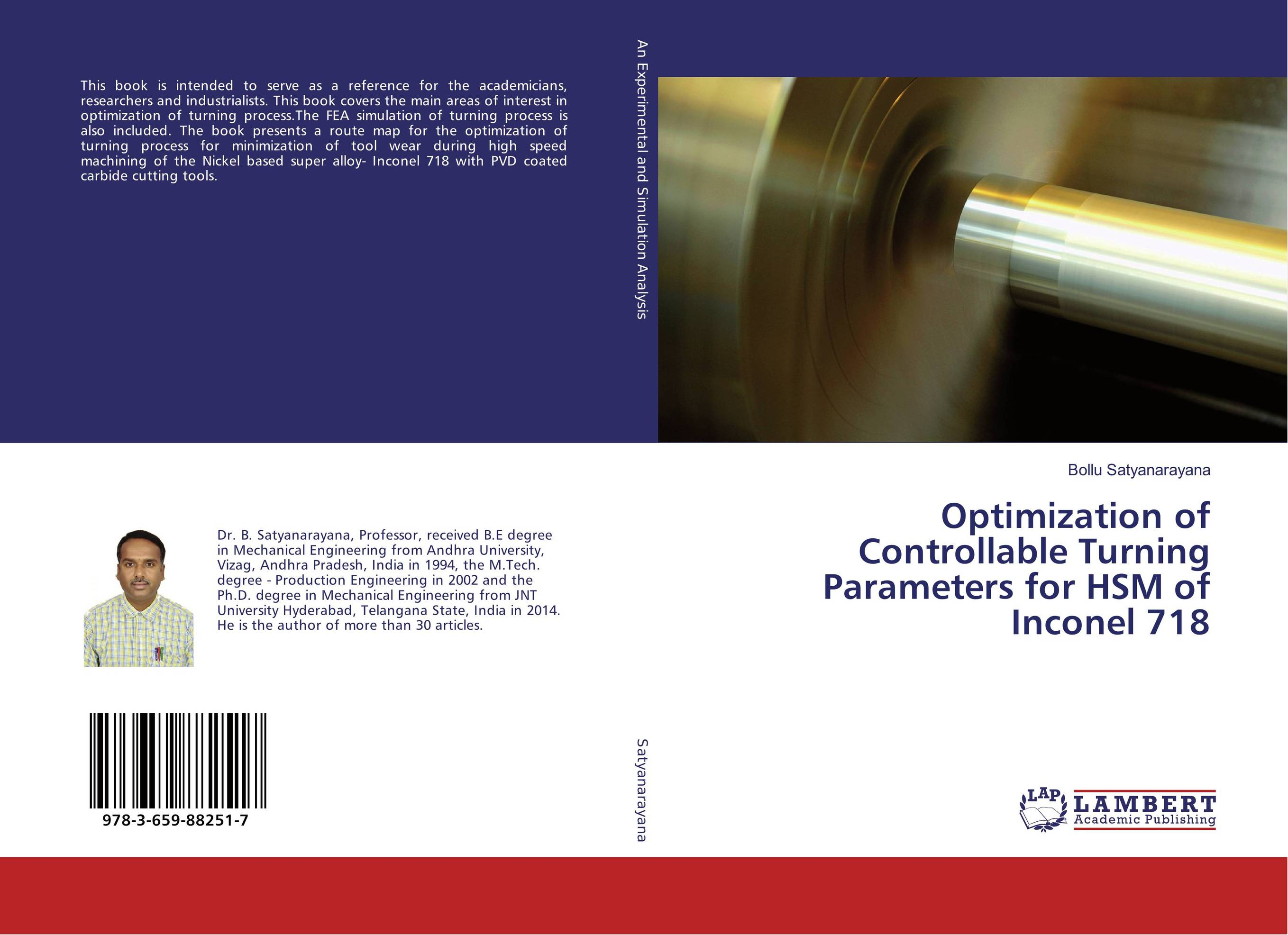 Optimization of Controllable Turning Parameters for HSM of Inconel 718 optimization of design parameters for the rigid drive disc of clutch