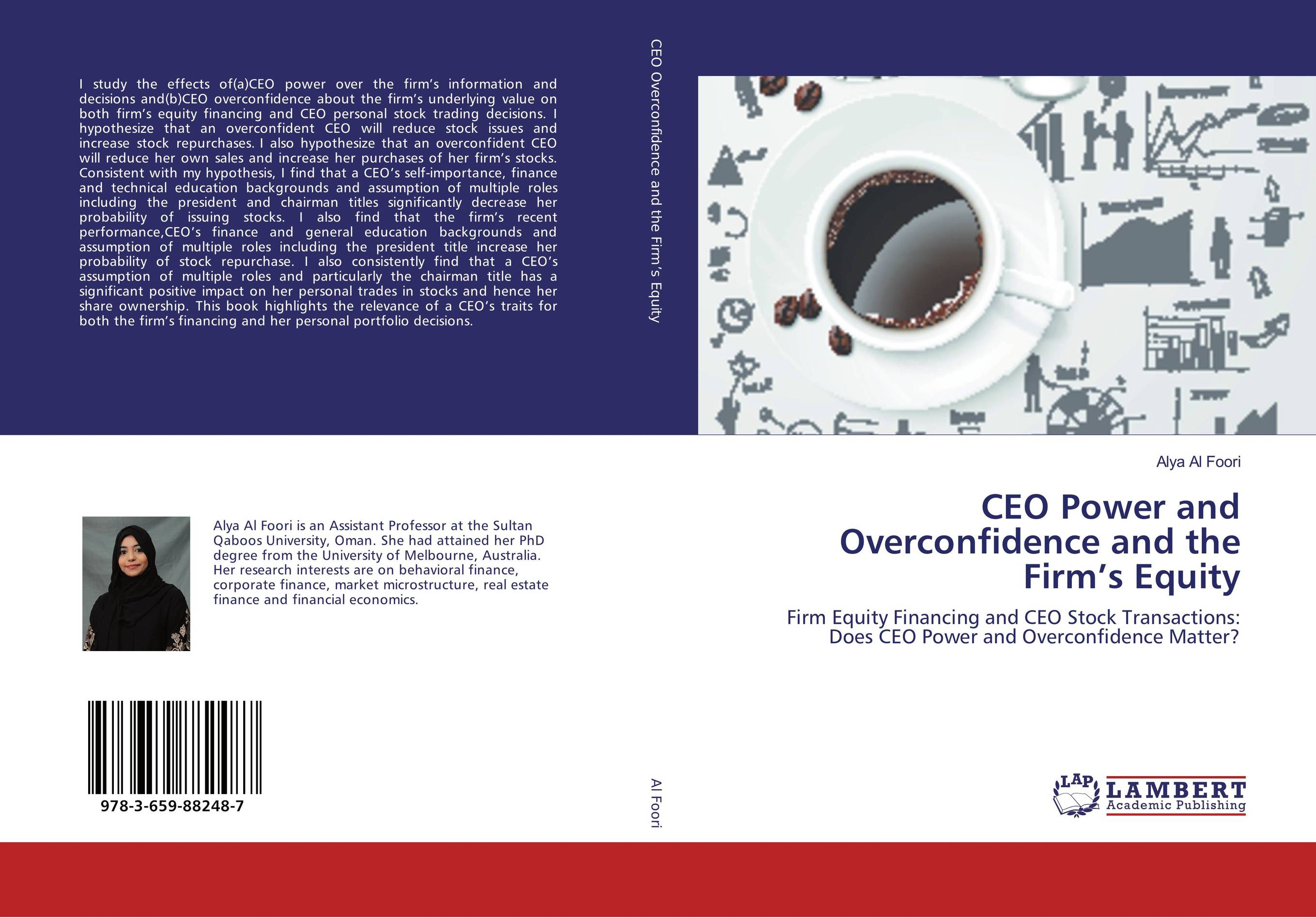 CEO Power and Overconfidence and the Firm's Equity corporate performance do ceo roles matter