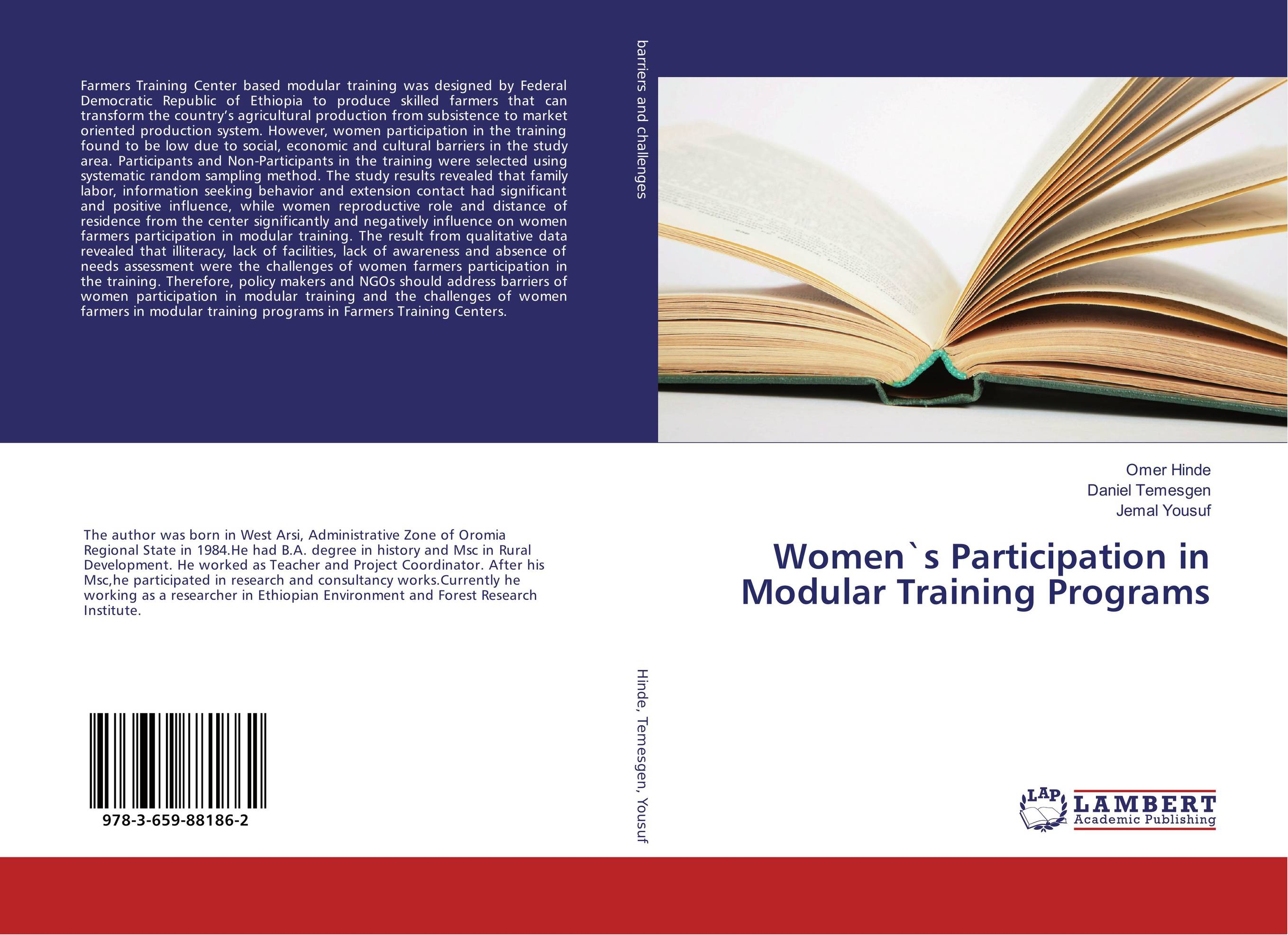 Women`s Participation in Modular Training Programs training in compassion