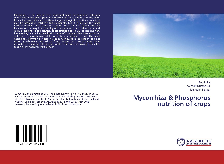 Mycorrhiza & Phosphorus nutrition of crops handheld waterproof gardens plants flowers soil ph