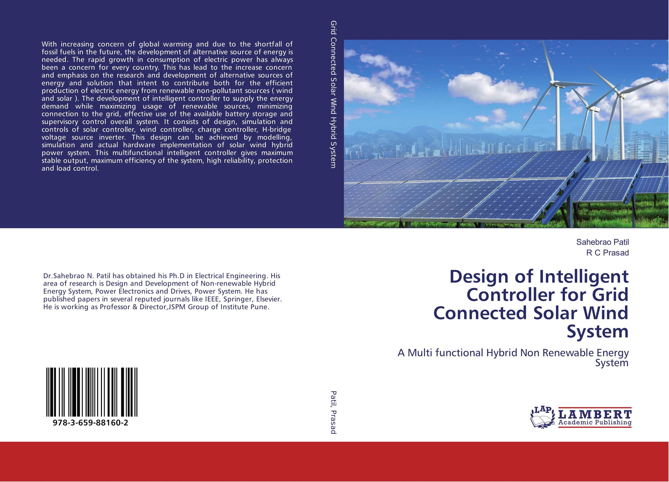 Design of Intelligent Controller for Grid Connected Solar Wind System wind energy generation modeling for planning of electric power system