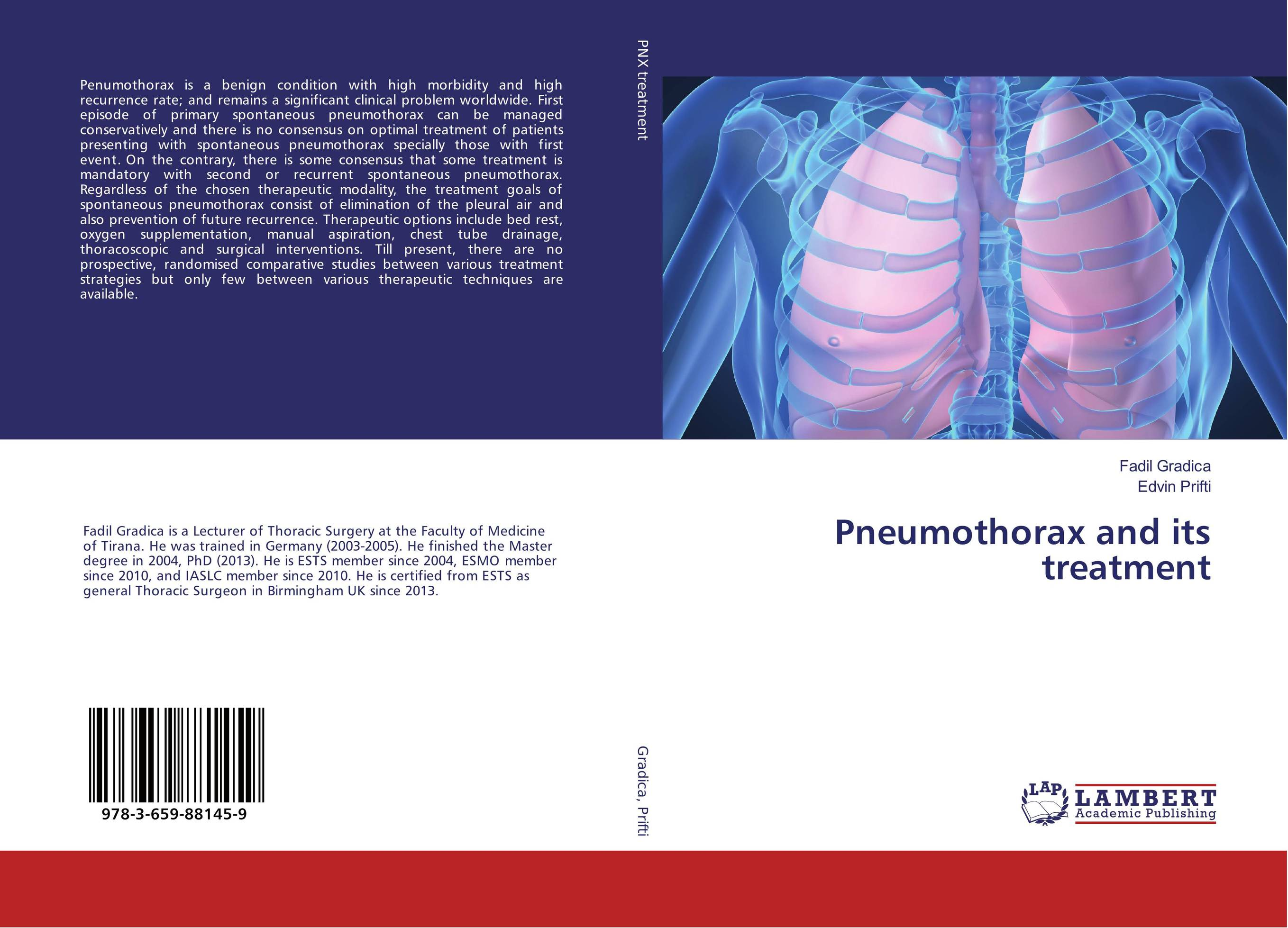 Pneumothorax and its treatment case history of therapeutic patient manual