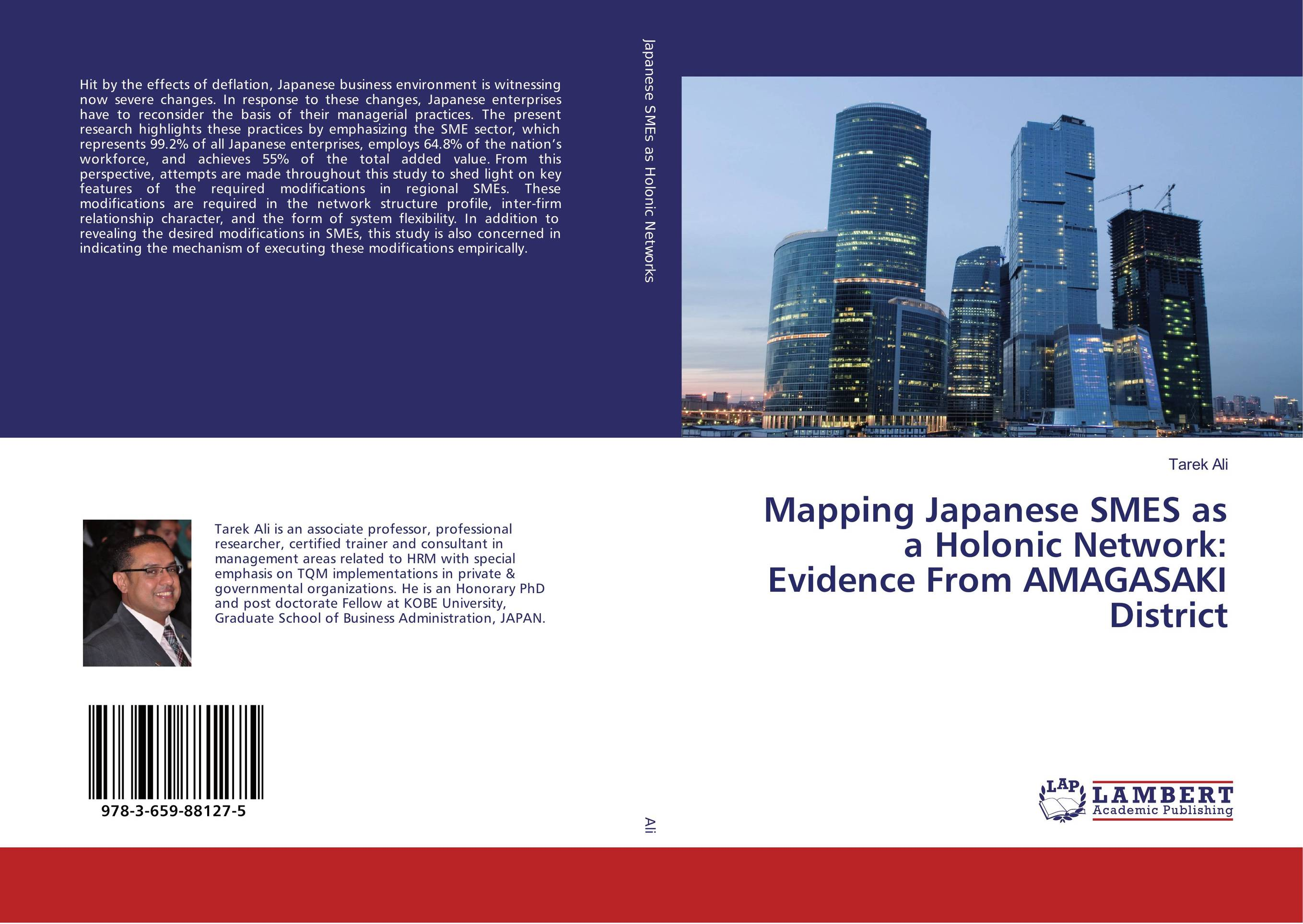 Mapping Japanese SMES as a Holonic Network: Evidence From AMAGASAKI District