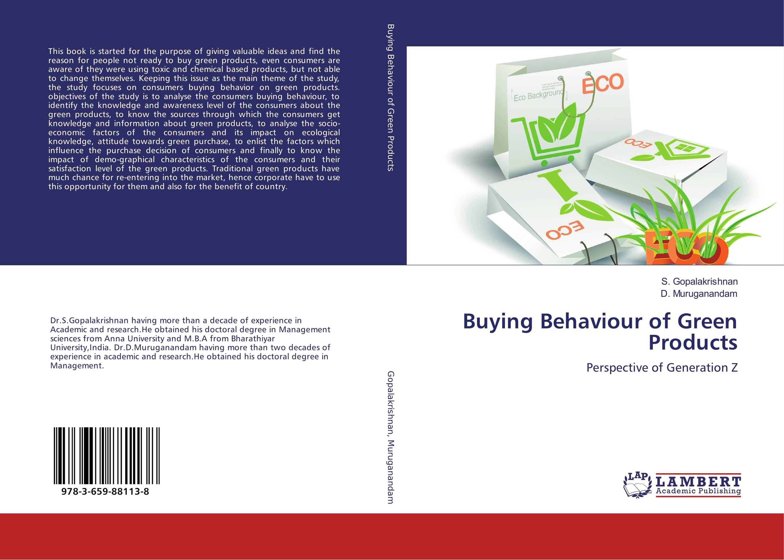 Buying Behaviour of Green Products