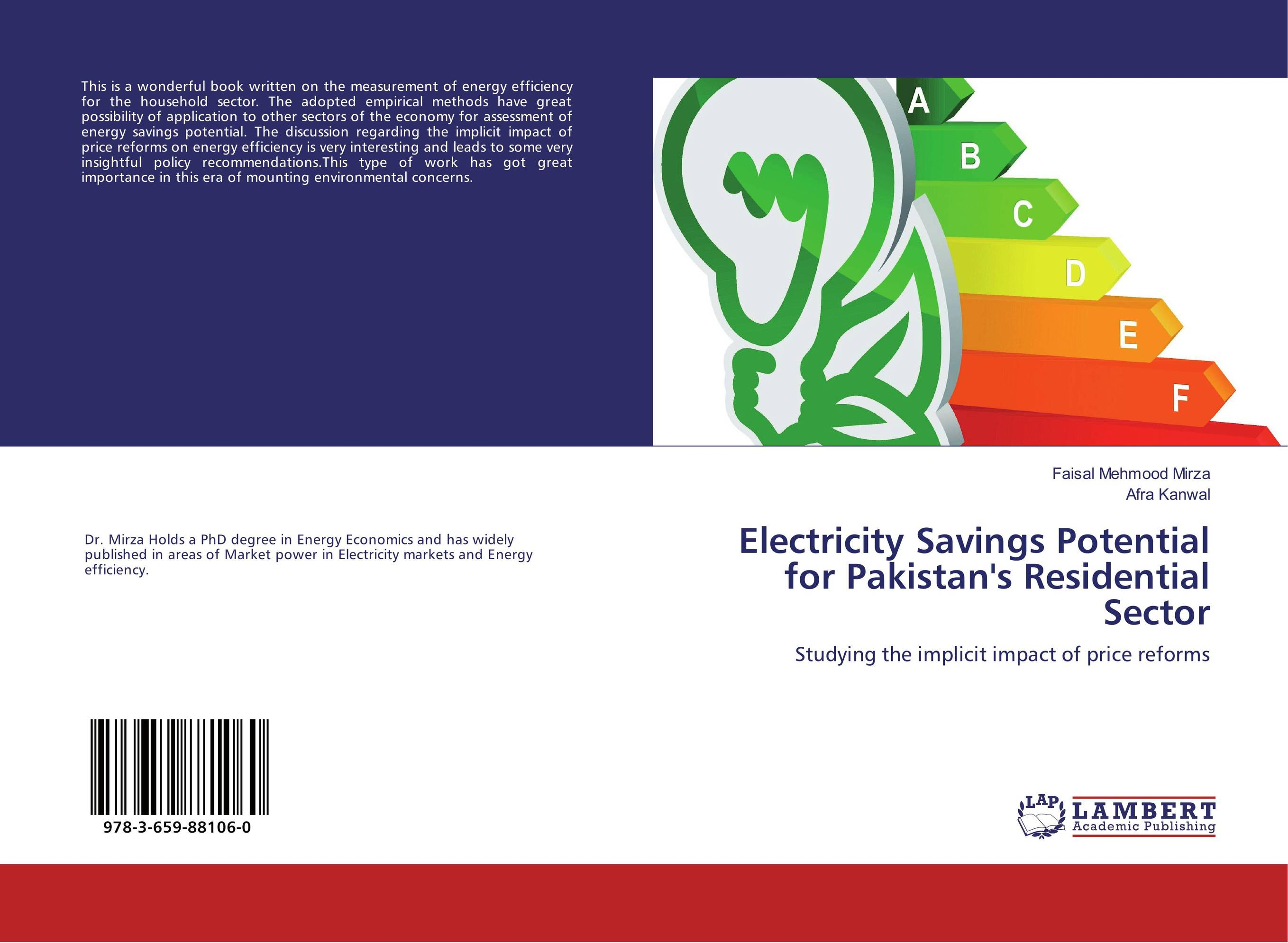 Electricity Savings Potential for Pakistan's Residential Sector development of ghg mitigation options for alberta's energy sector