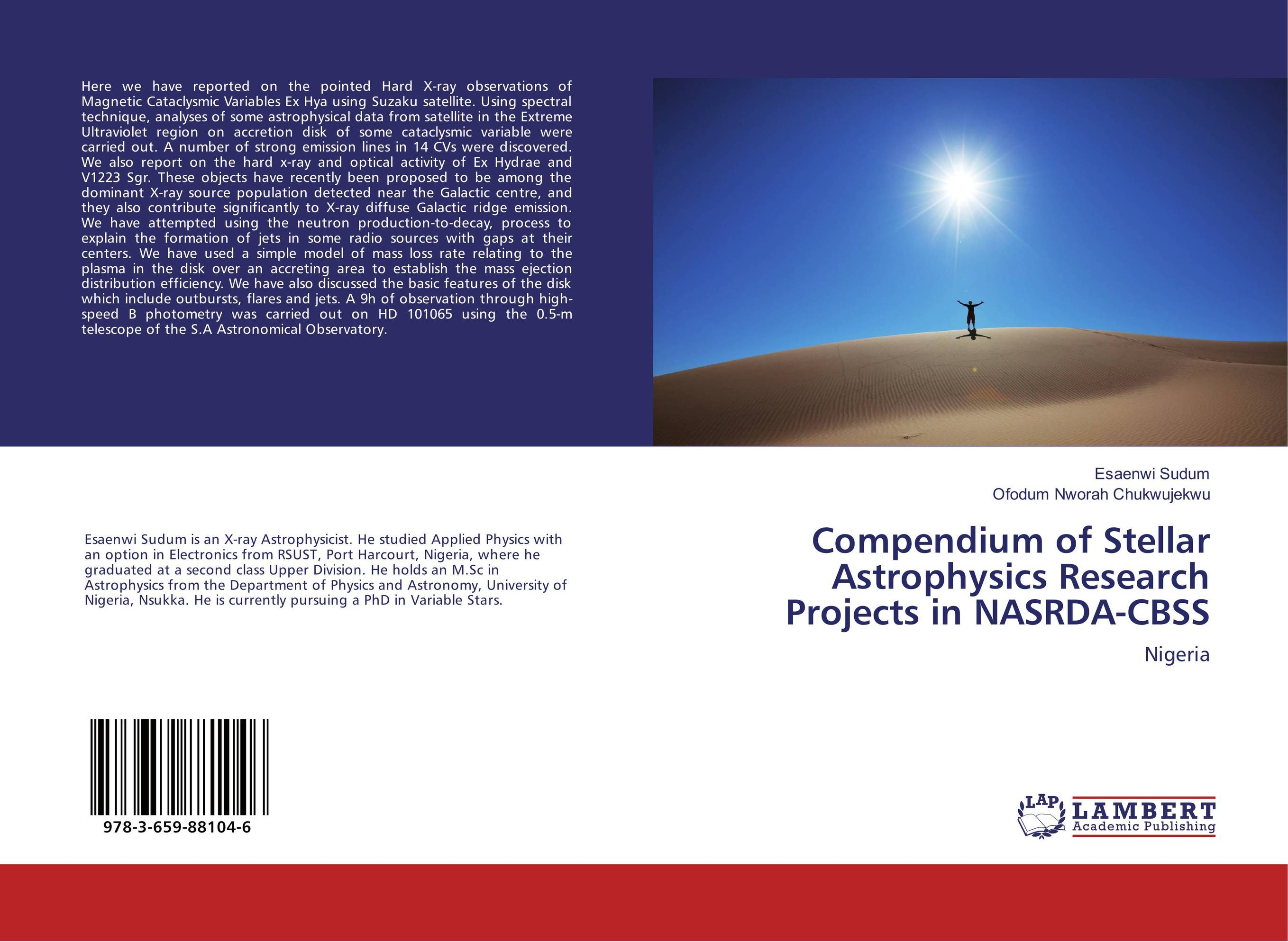 Compendium of Stellar Astrophysics Research Projects in NASRDA-CBSS managing projects made simple