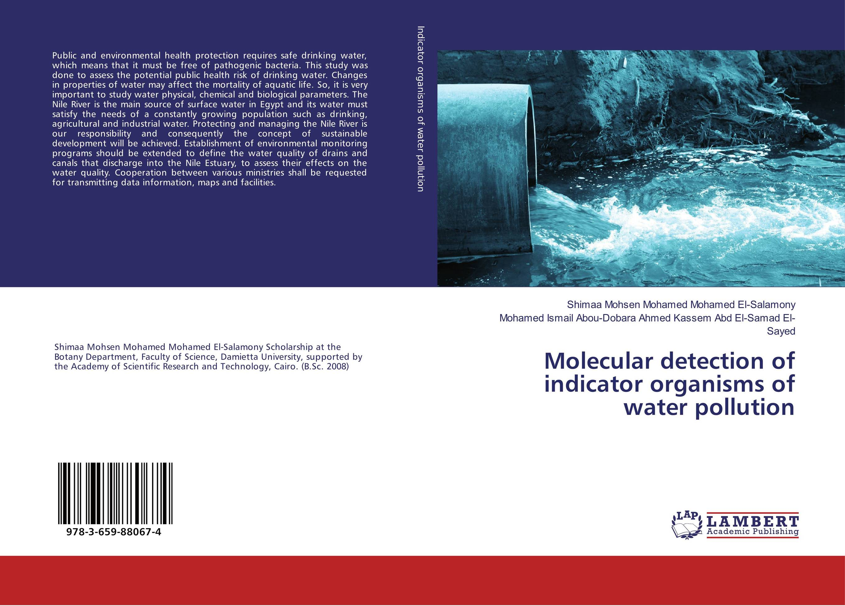 Molecular detection of indicator organisms of water pollution health risk evaluation of uniport drinking water framework nigeria