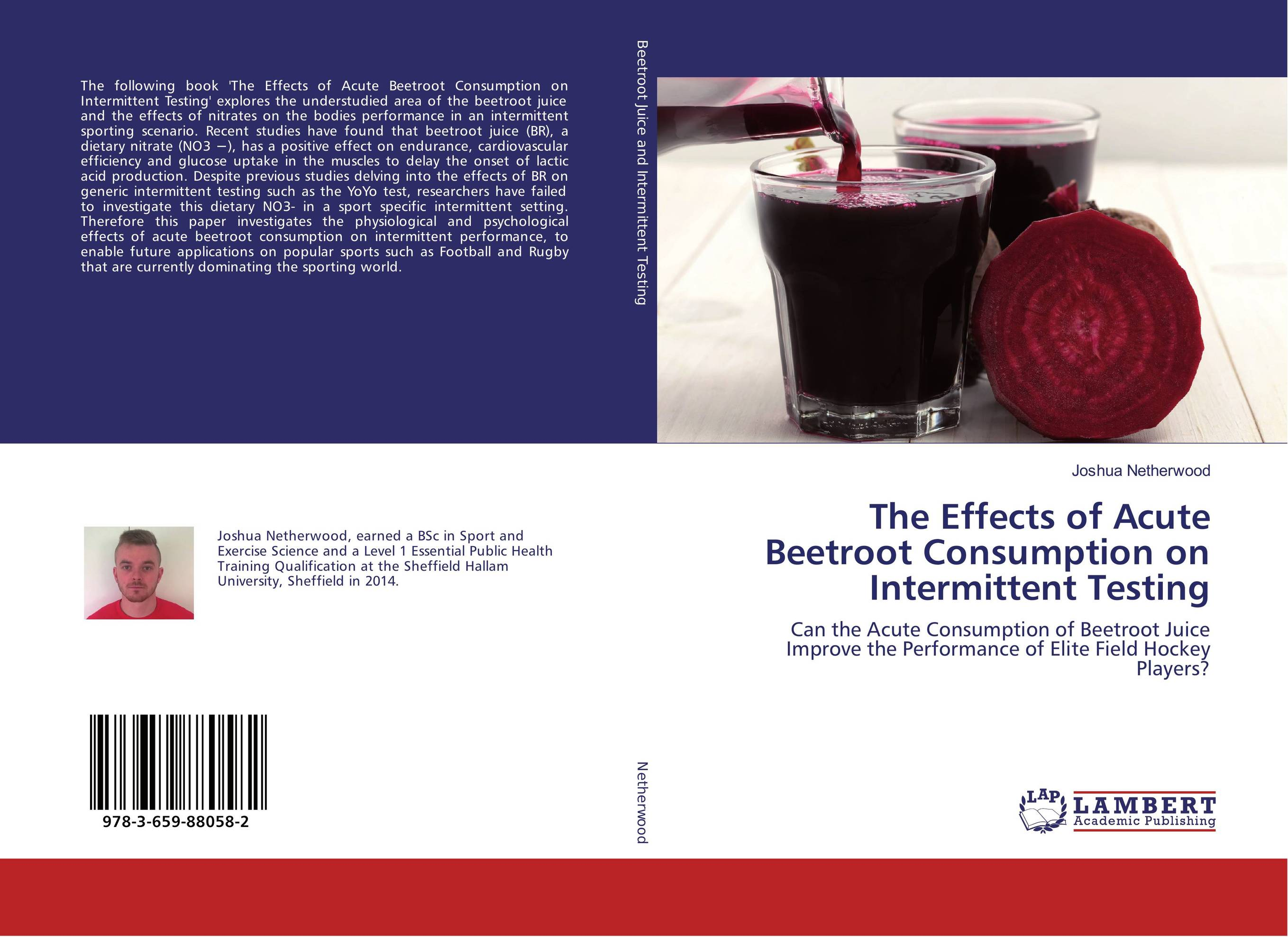 The Effects of Acute Beetroot Consumption on Intermittent Testing like bug juice on a burger
