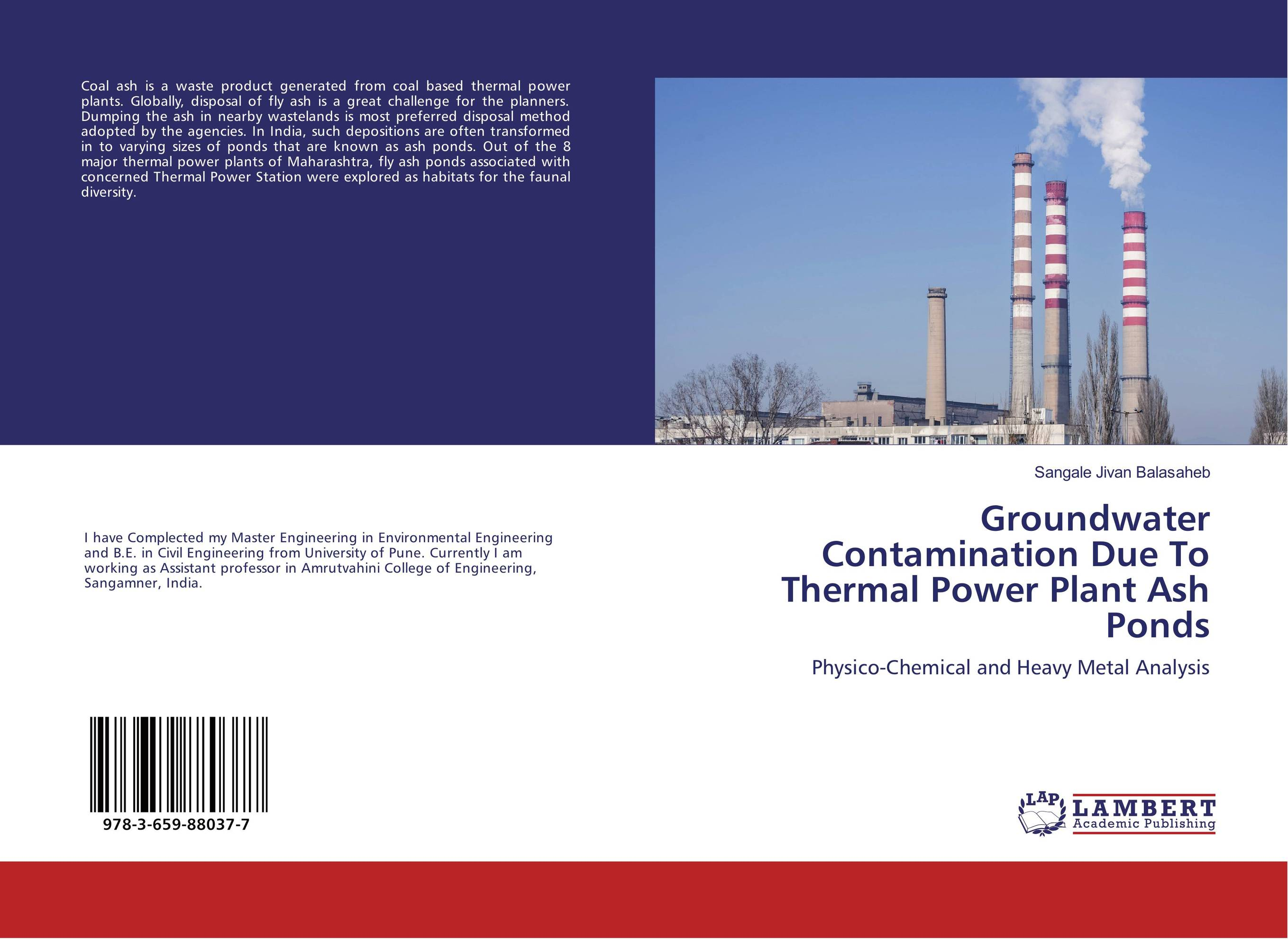 Groundwater Contamination Due To Thermal Power Plant Ash Ponds seek thermal