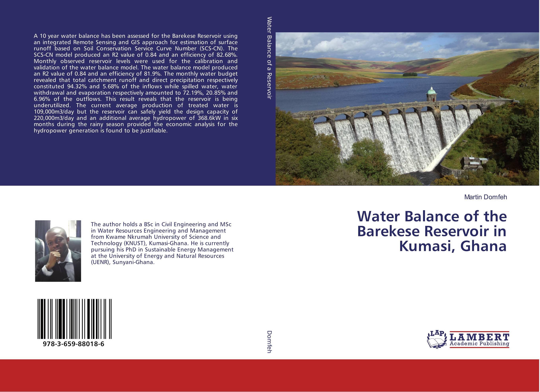 Water Balance of the Barekese Reservoir in Kumasi, Ghana bride of the water god v 3