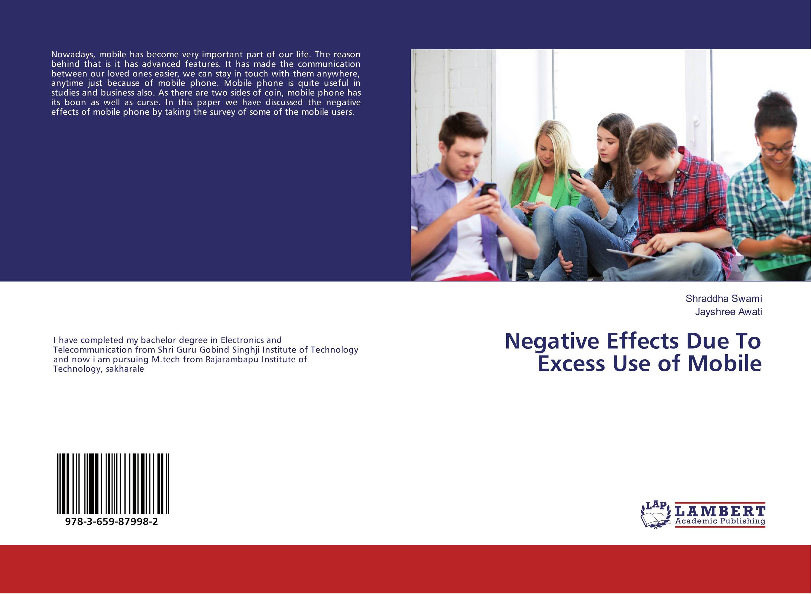 Negative Effects Due To Excess Use of Mobile