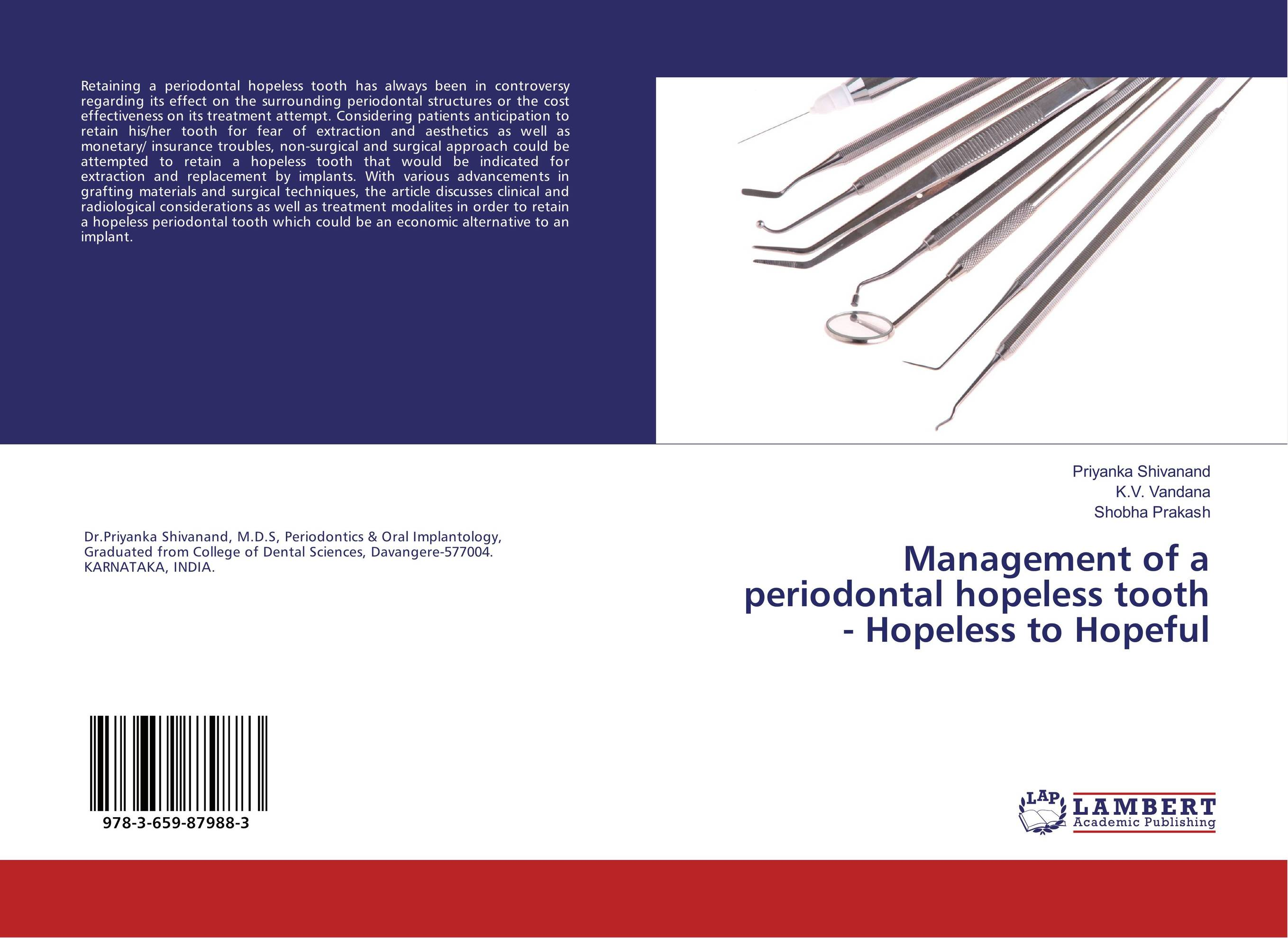 Management of a periodontal hopeless tooth - Hopeless to Hopeful non surgical periodontal therapy